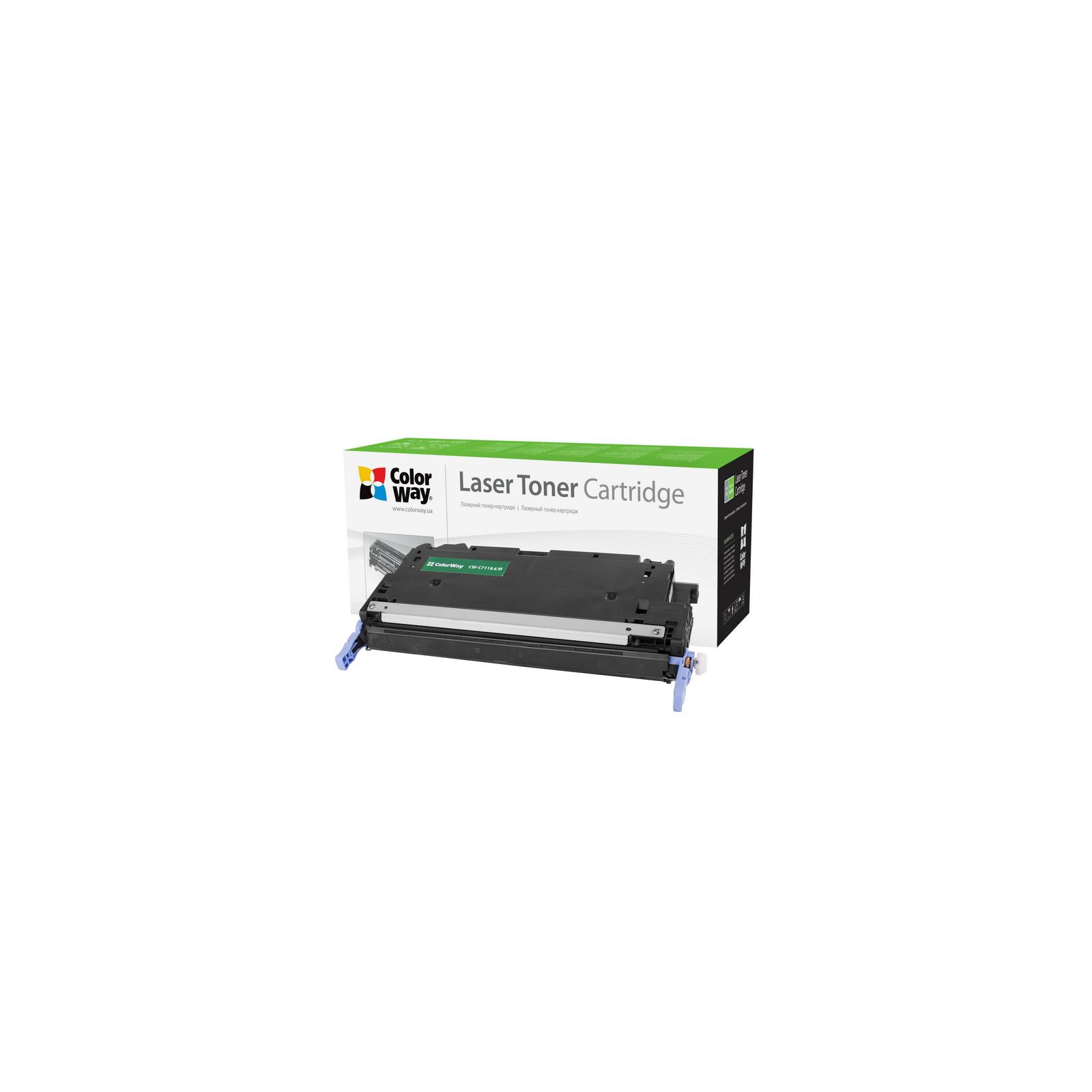 Картридж ColorWay для CANON 711 (HP Q6470A) LBP-5300/5360 black (CW-C711BKM)