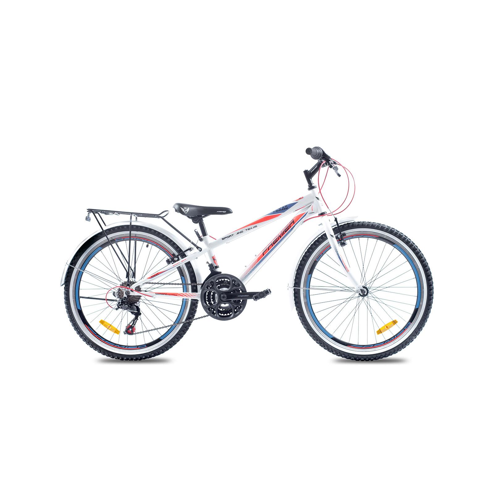"""Велосипед Premier Texas24 2016 11"""" белый с красно-голубым (ЦБ0000338)"""
