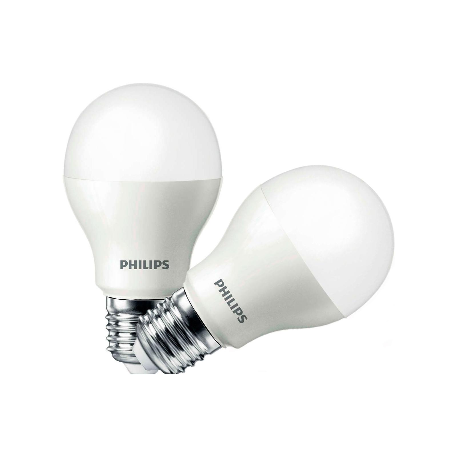 Лампочка PHILIPS LEDBulb E27 10.5-85W 3000K 230V A55 (1+1) (8727900270105)