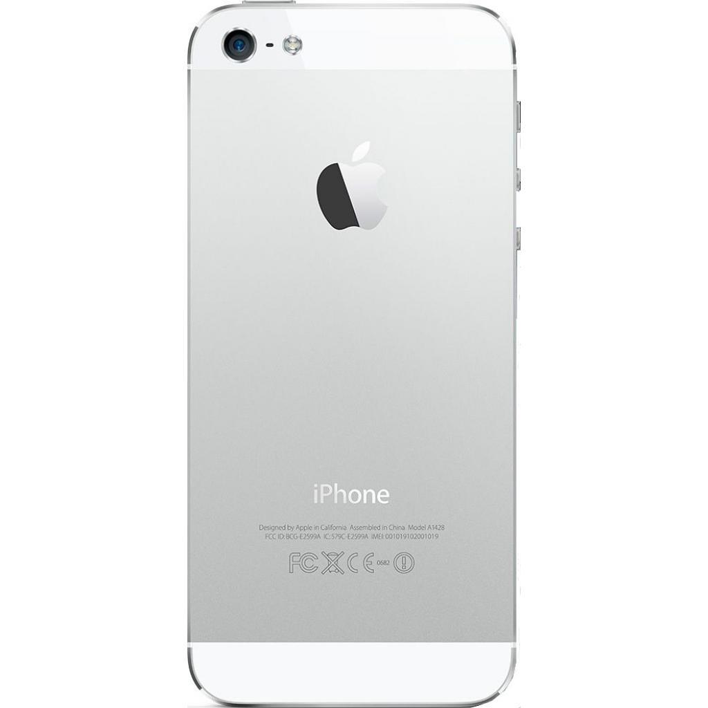 Мобильный телефон Apple iPhone 5S 16Gb Silver Original factory refurbished (FE433UA/A) изображение 2