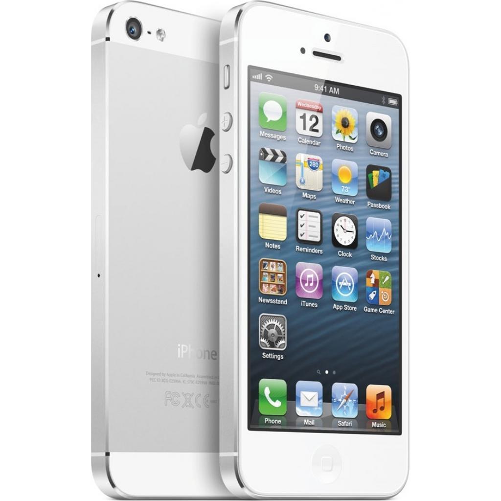 Мобильный телефон Apple iPhone 5S 16Gb Silver Original factory refurbished (FE433UA/A) изображение 3
