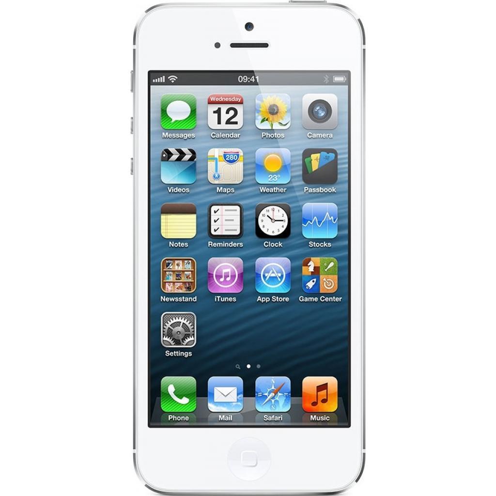 Мобильный телефон Apple iPhone 5S 16Gb Silver Original factory refurbished (FE433UA/A)