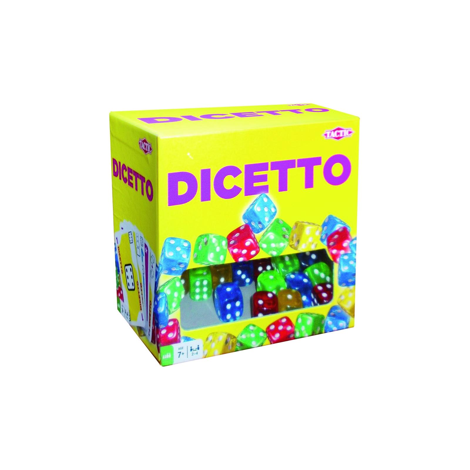 Настольная игра Tactic Дисетто (53223)