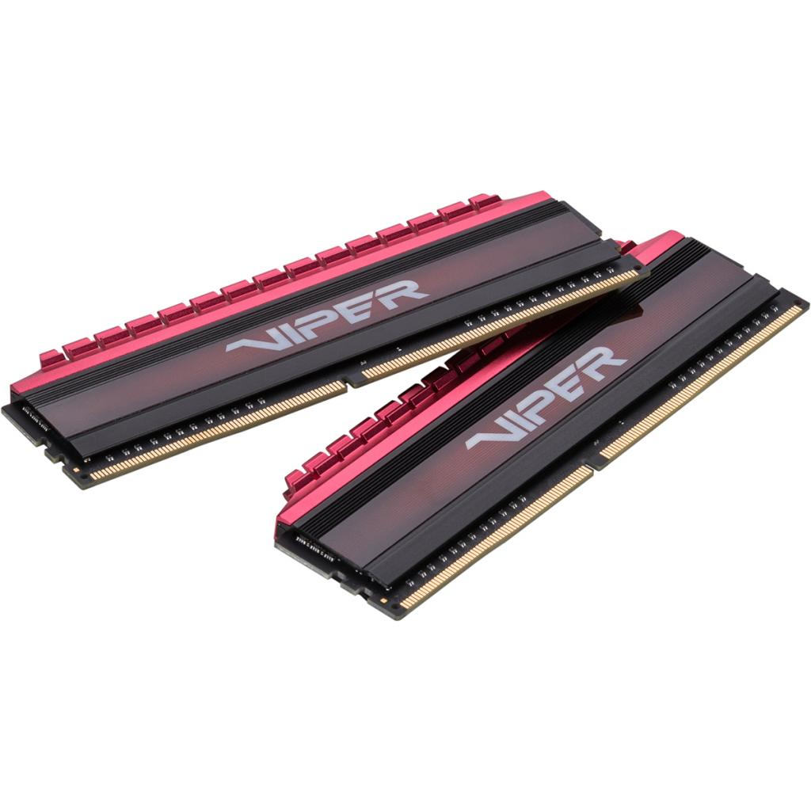 Модуль памяти для компьютера DDR4 16GB (2x8GB) 2666 MHz PE-V4 BLK/RED DUALCH Patriot (PV416G266C5K)