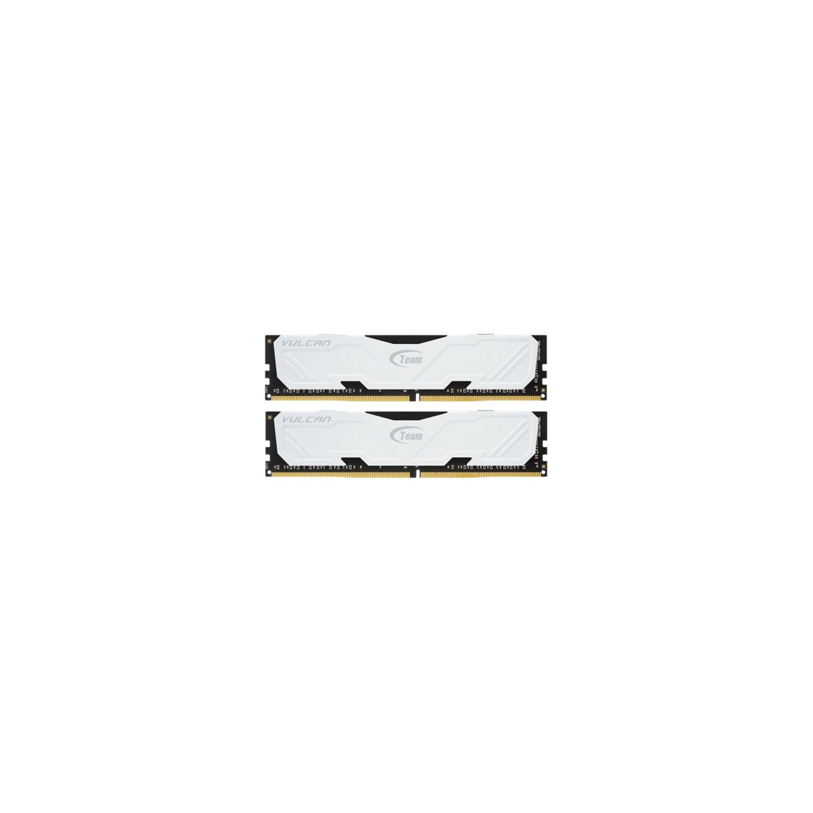 Модуль памяти для компьютера DDR3 16GB (2x8GB) 1600 MHz Vulcan White Team (TLWED316G1600HC9DC01)
