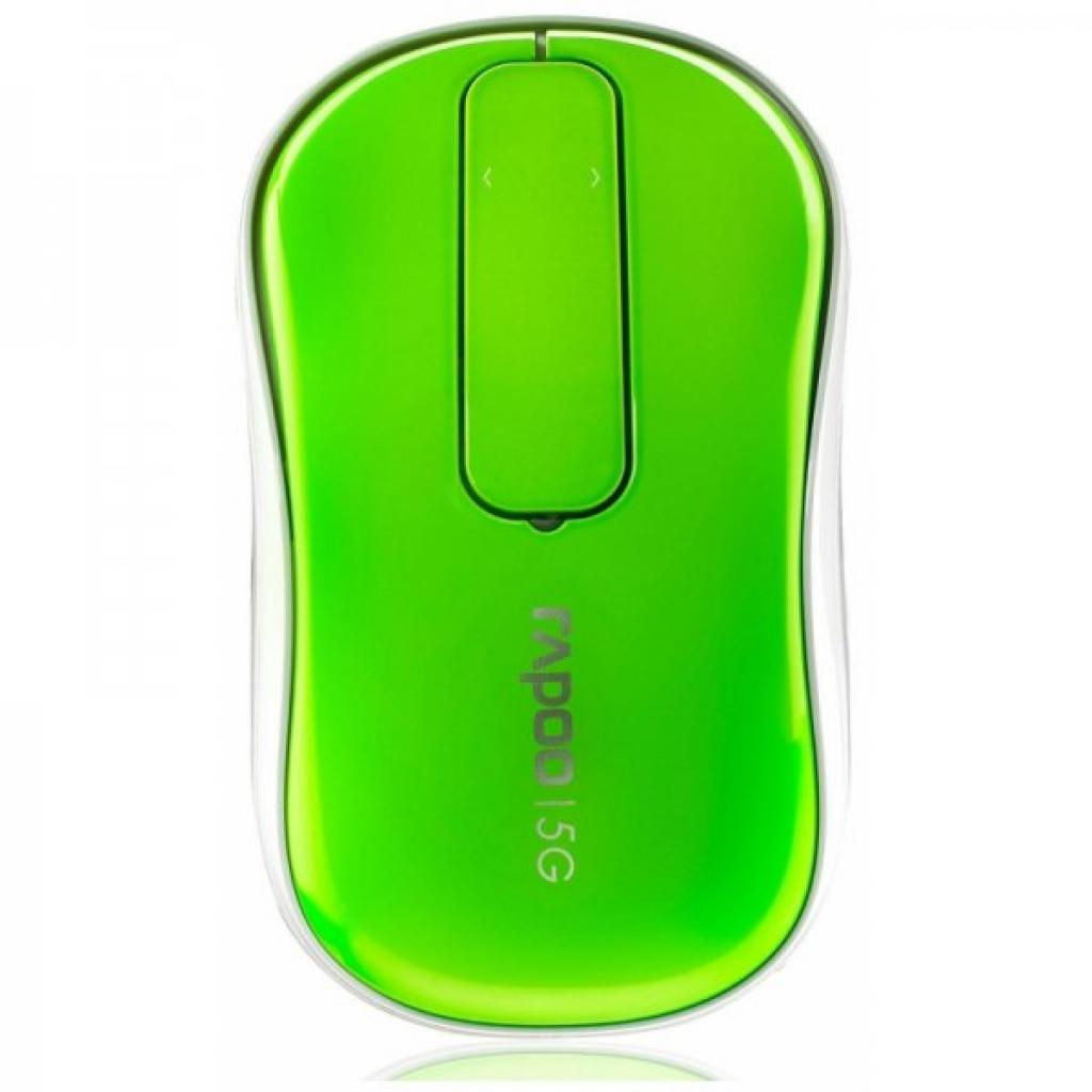 Мышка Rapoo Touch Mouse T120p Green изображение 2
