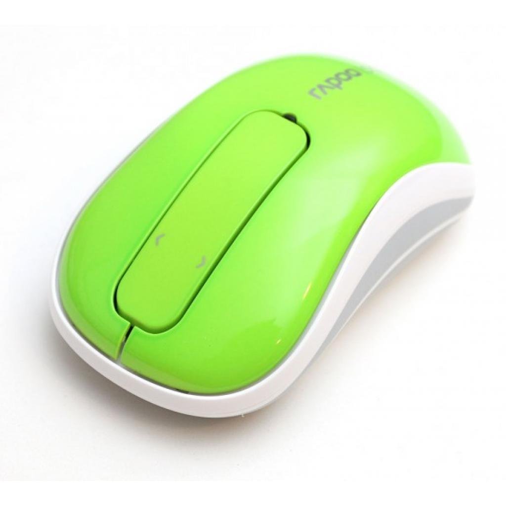 Мышка Rapoo Touch Mouse T120p Green изображение 3