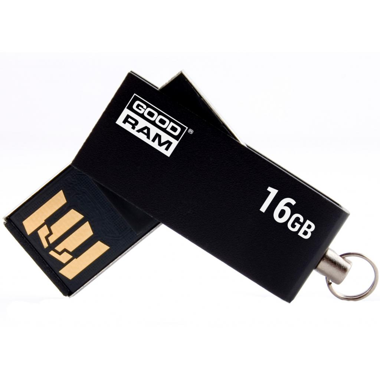 USB флеш накопитель Goodram 32GB Cube Silver USB 2.0 (PD32GH2GRCUSR9) изображение 2