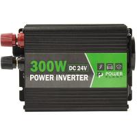 Адаптер автомобильный 12V/220V PowerPlant 24V/220V HYM300-242, 300W, + USB 5V 1A (KD00MS0002)