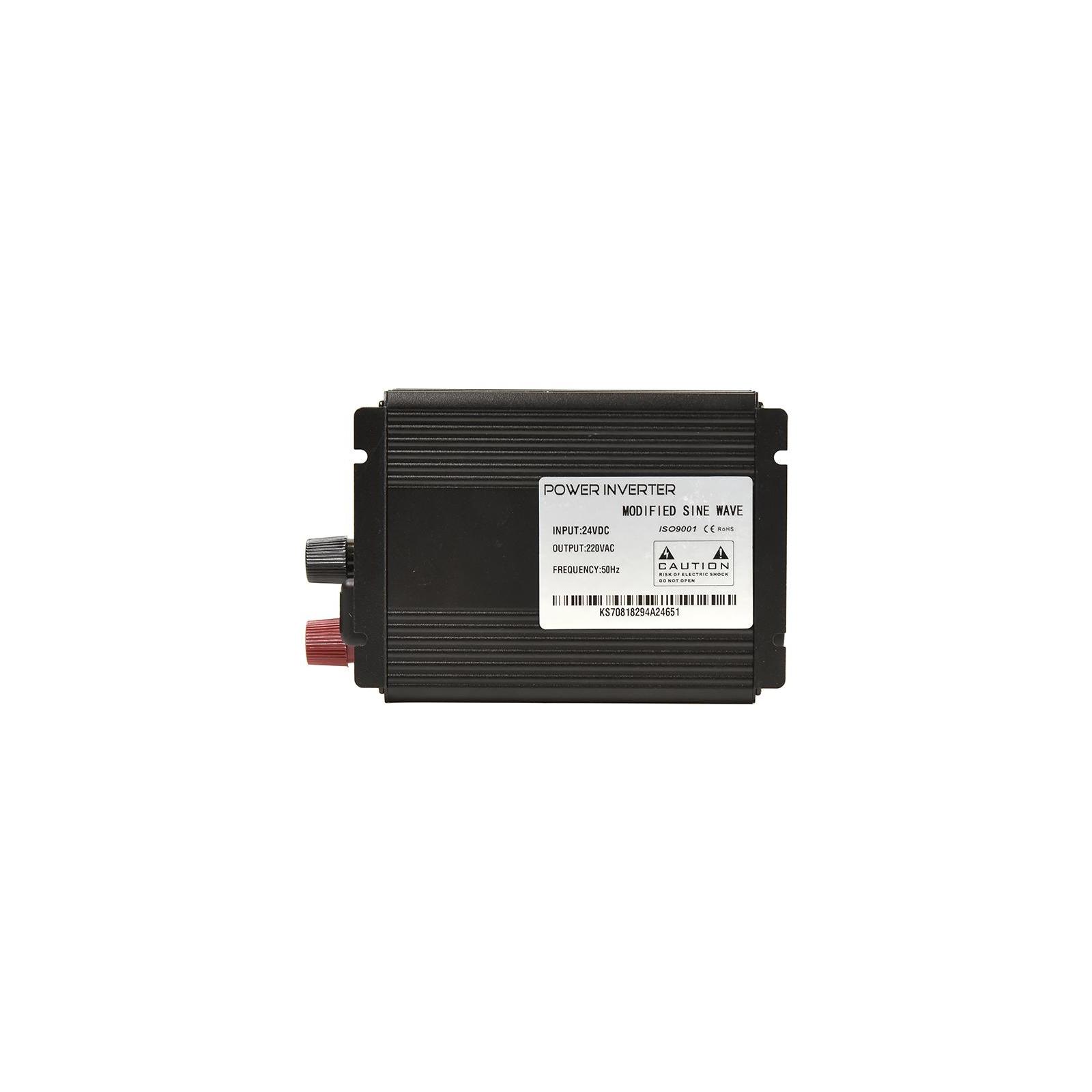Автомобильный инвертор 24V/220V 300W, USB 5V 1A, HYM300-242 PowerPlant (KD00MS0002) изображение 3