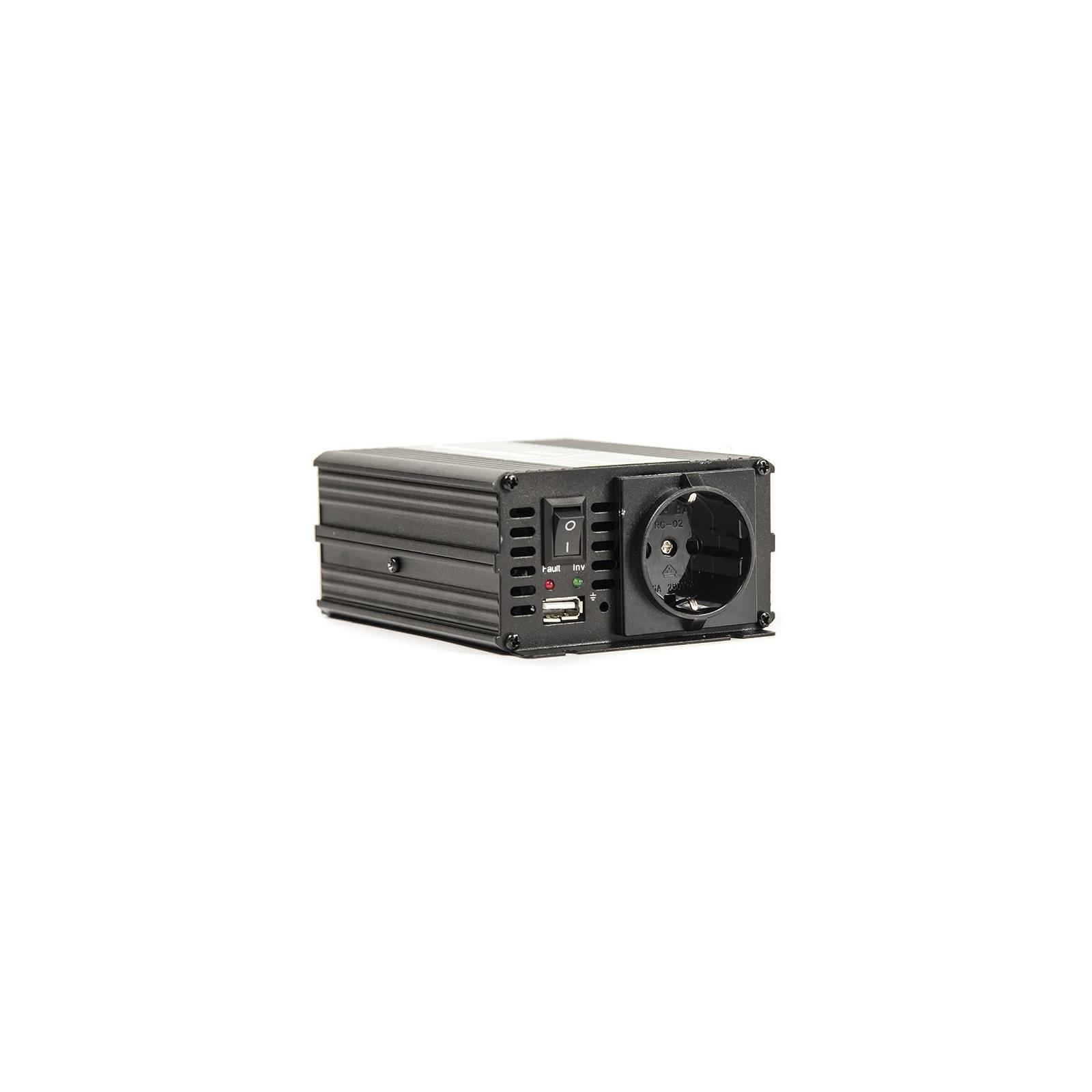 Автомобильный инвертор 24V/220V 300W, USB 5V 1A, HYM300-242 PowerPlant (KD00MS0002) изображение 4