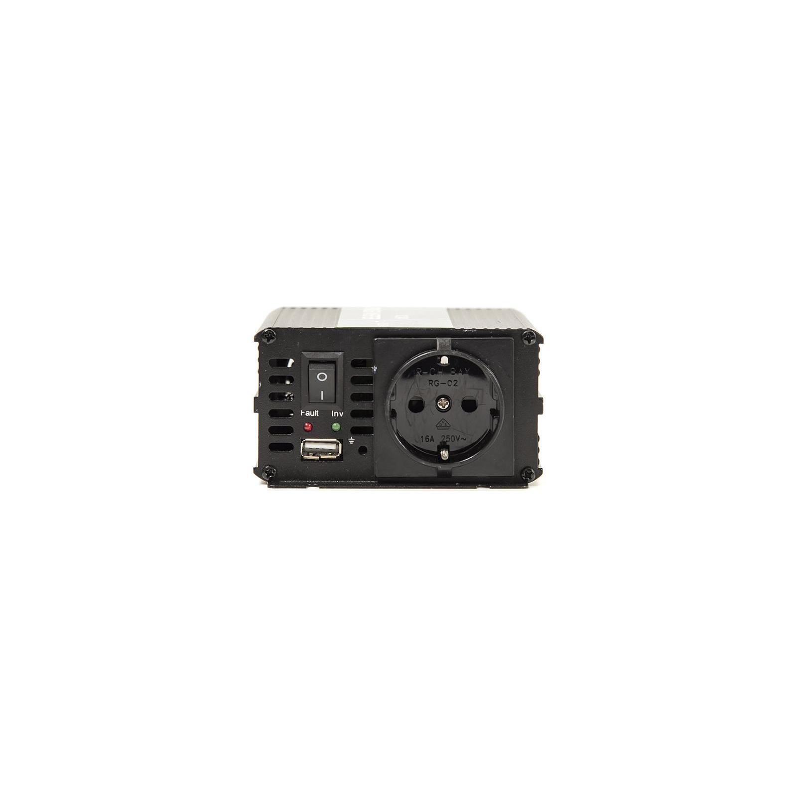 Автомобильный инвертор 24V/220V 300W, USB 5V 1A, HYM300-242 PowerPlant (KD00MS0002) изображение 5