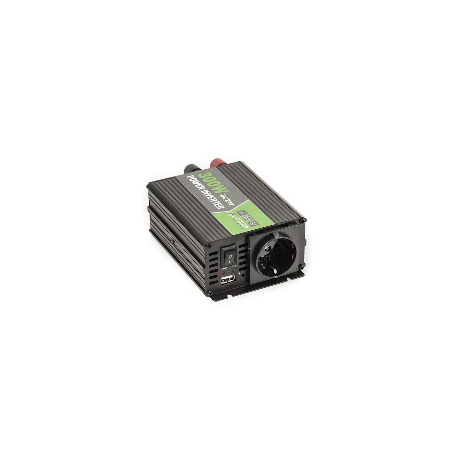 Автомобильный инвертор 24V/220V 300W, USB 5V 1A, HYM300-242 PowerPlant (KD00MS0002) изображение 6