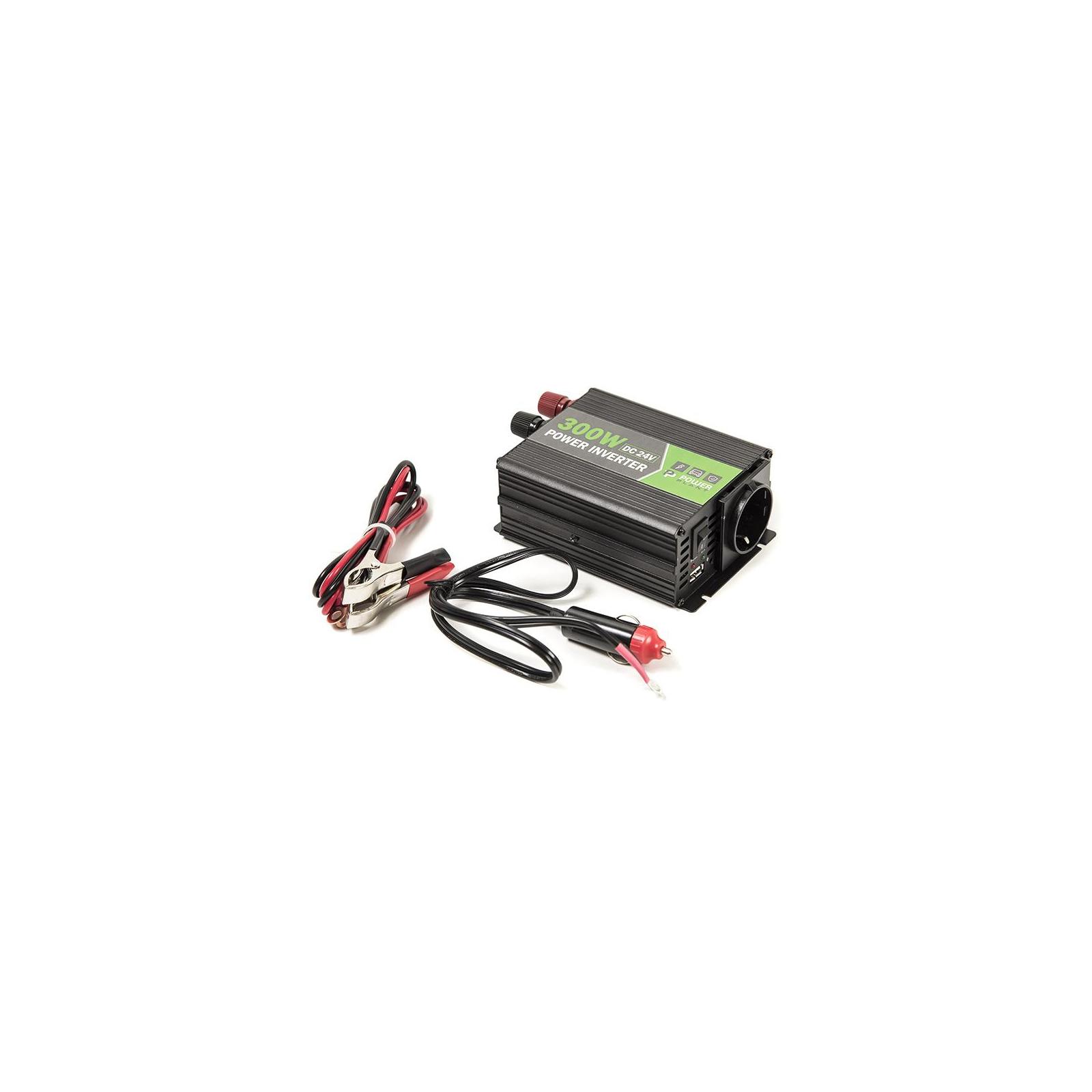 Автомобильный инвертор 24V/220V 300W, USB 5V 1A, HYM300-242 PowerPlant (KD00MS0002) изображение 7