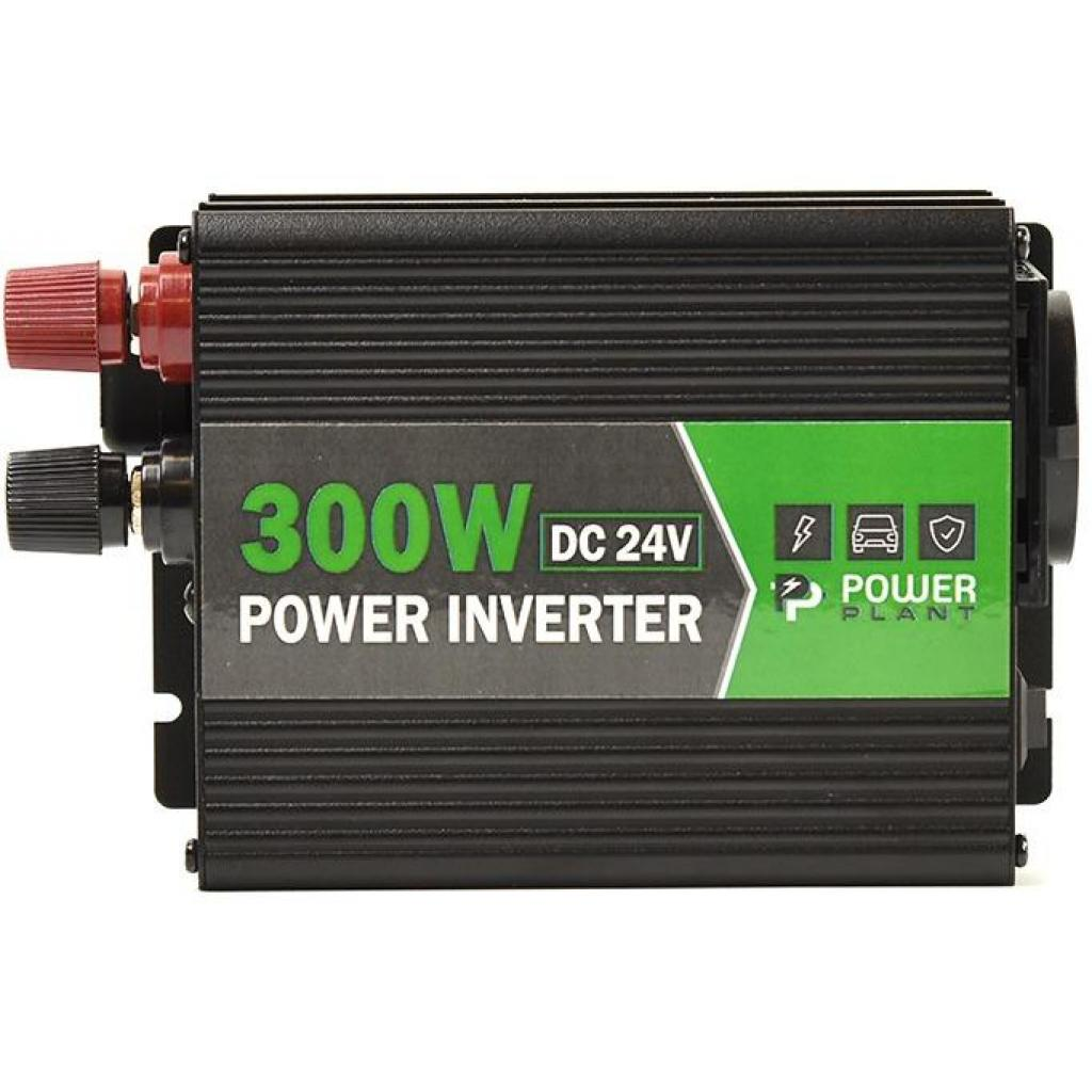 Автомобильный инвертор 24V/220V 300W, USB 5V 1A, HYM300-242 PowerPlant (KD00MS0002)