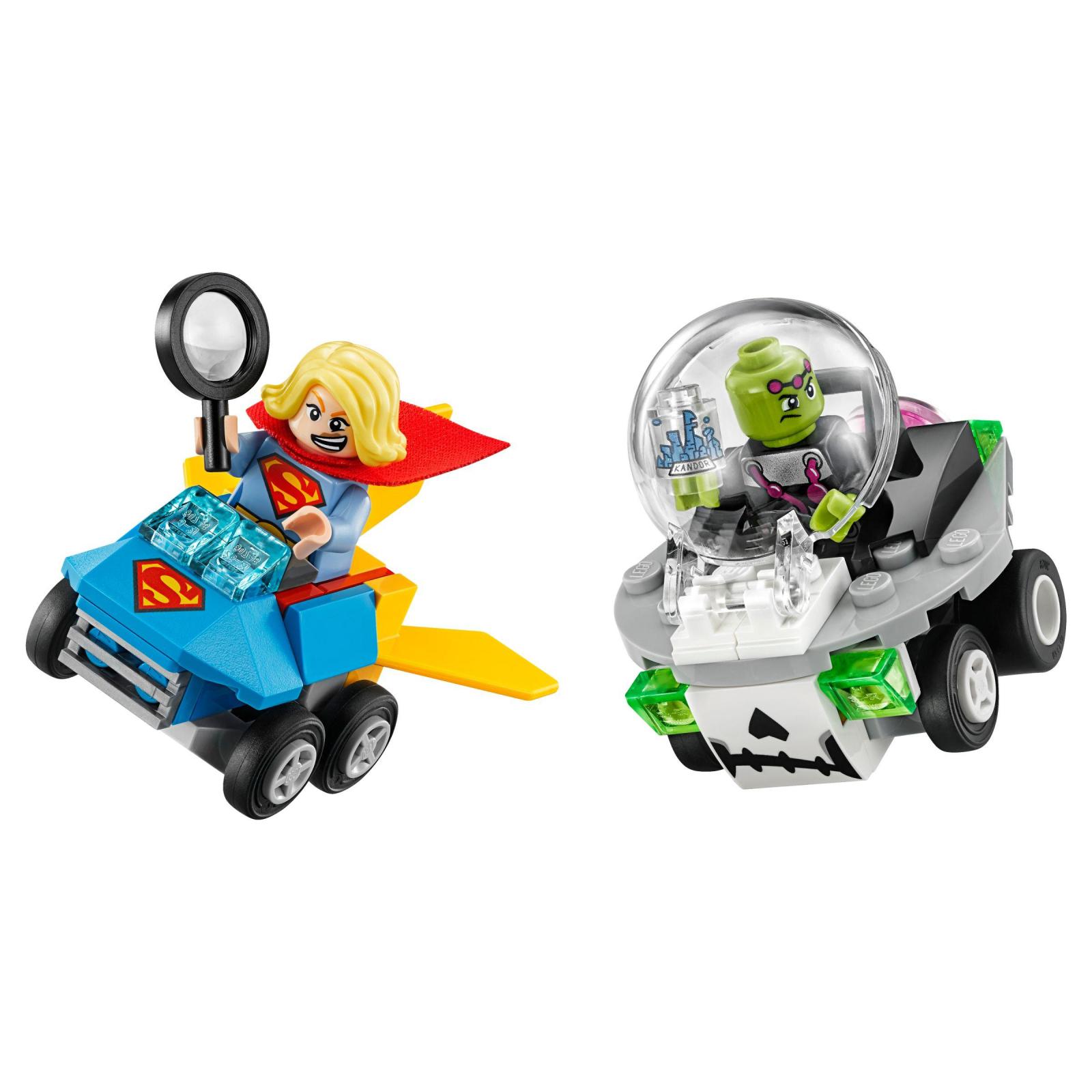 Конструктор LEGO Super Heroes Mighty Micros: Супердевушка против Брейниака (76094) изображение 2
