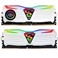 Модуль памяти для компьютера 16GB (2x8GB) 2400 MHz Super Luce White RGB Sync LED GEIL (GLWS416GB2400C16DC)