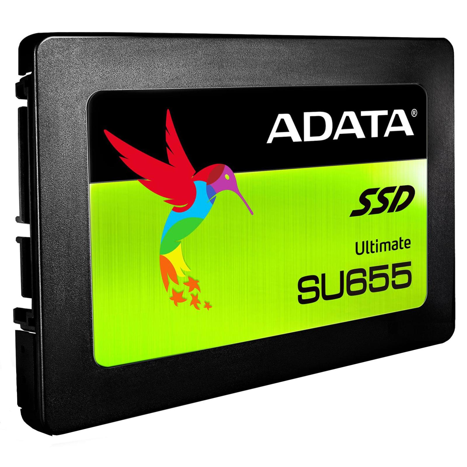 """Накопитель SSD 2.5"""" 240GB ADATA (ASU655SS-240GT-C) изображение 2"""