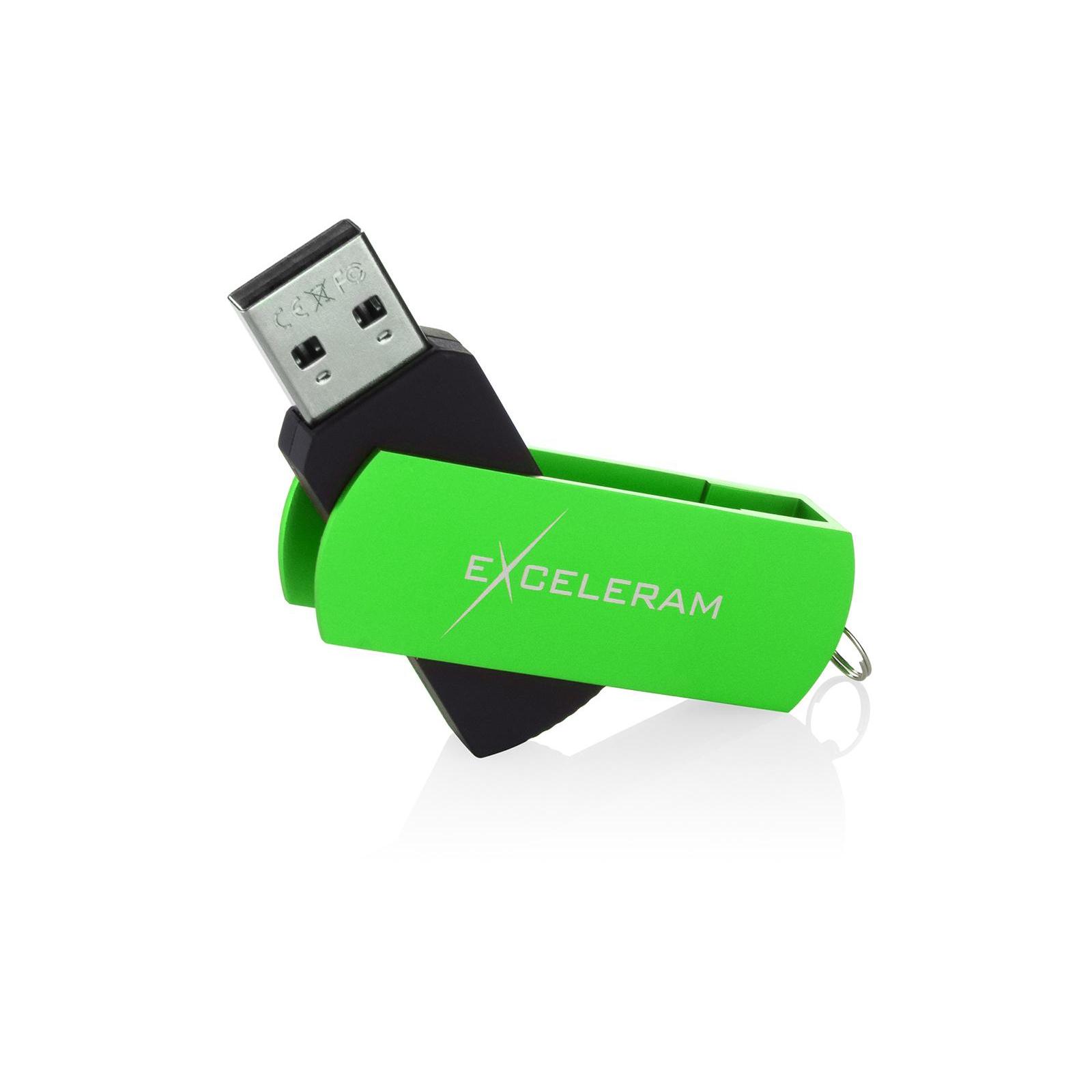 USB флеш накопитель eXceleram 64GB P2 Series Red/Black USB 2.0 (EXP2U2REB64) изображение 3