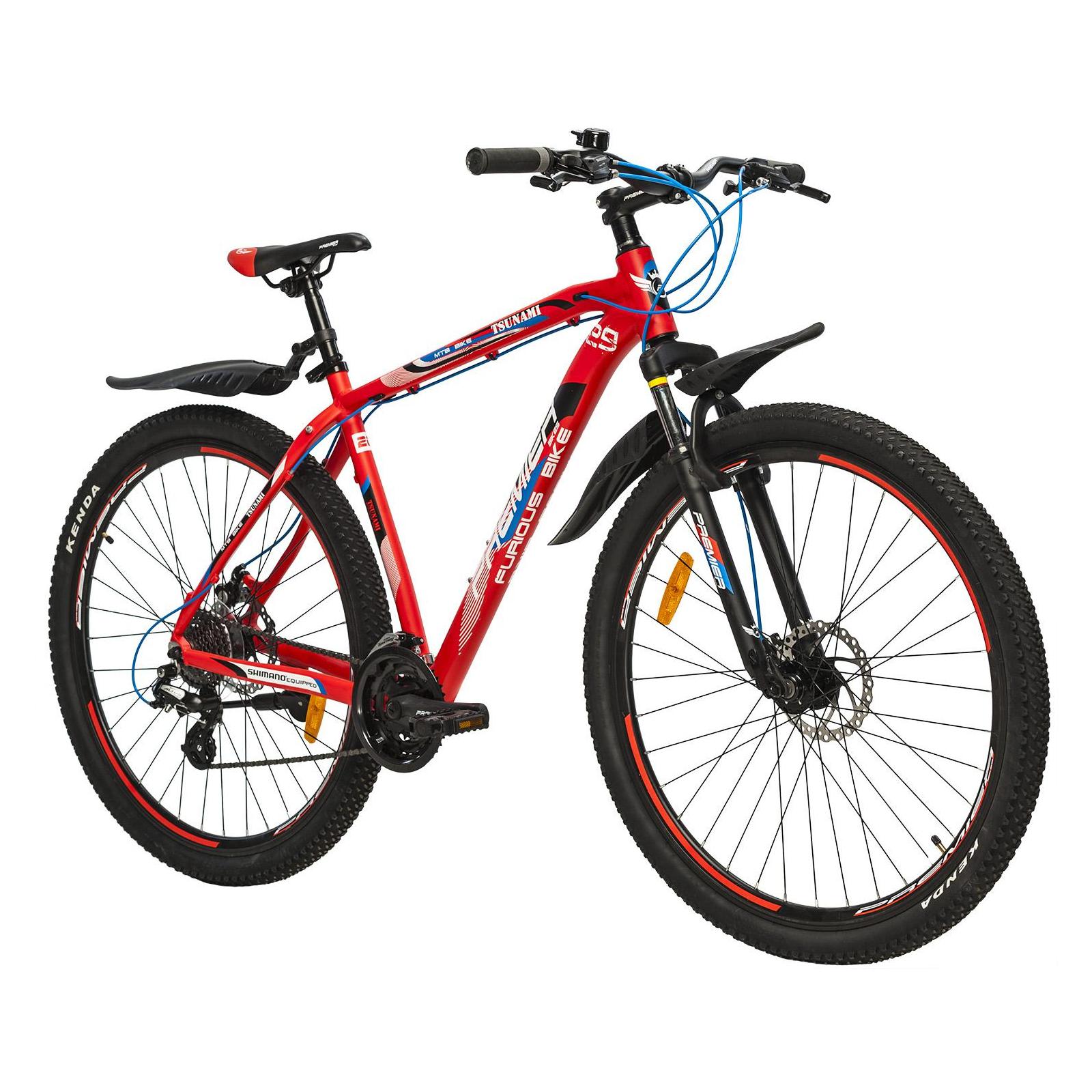 "Велосипед Premier Tsunami 29 Disc 17"" matt white (SP0001503) изображение 2"