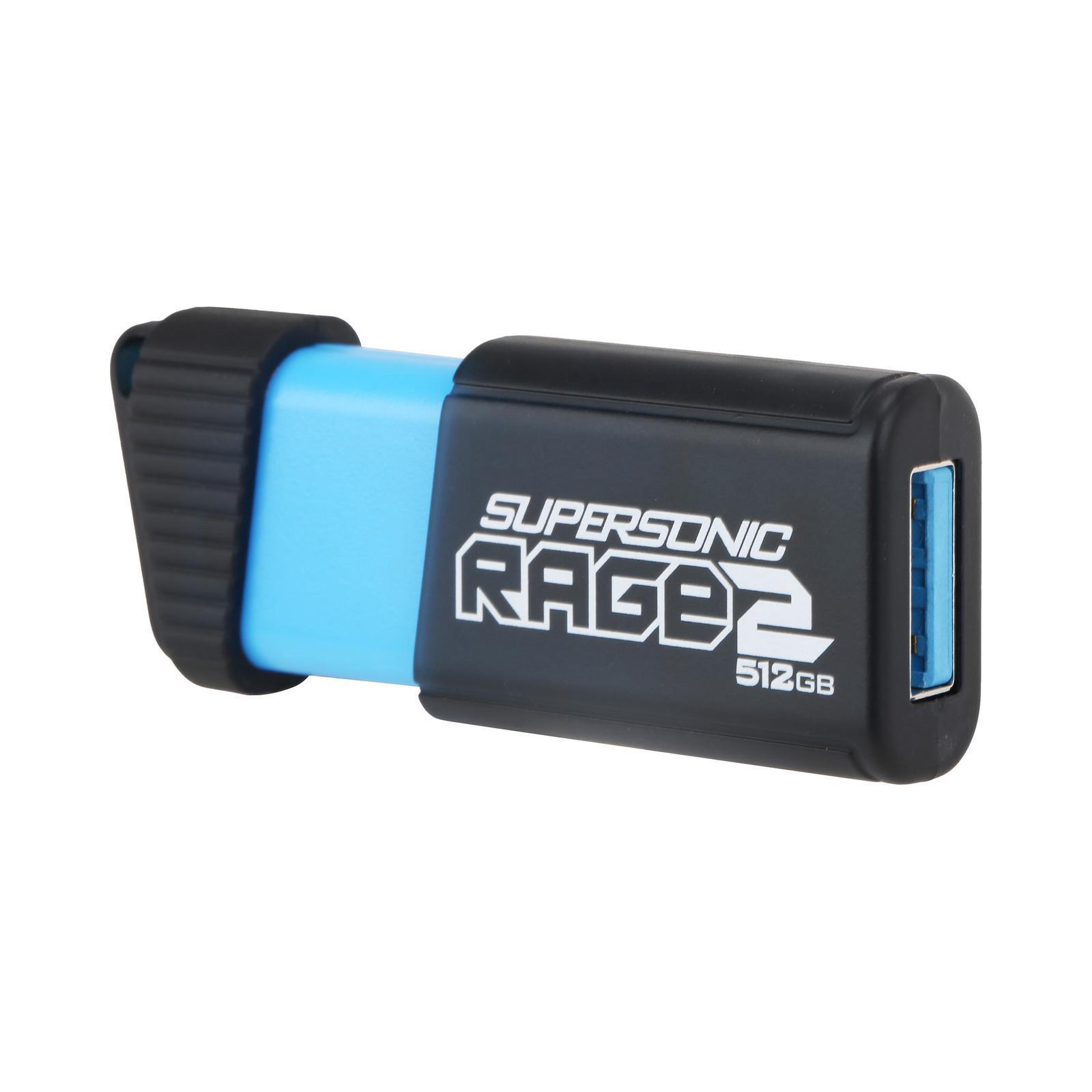 USB флеш накопитель Patriot 512GB Supersonic Rage 2 USB 3.1 (PEF512GSR2USB) изображение 2