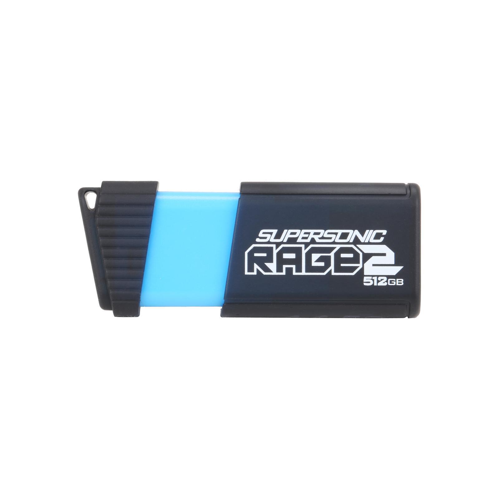 USB флеш накопитель Patriot 512GB Supersonic Rage 2 USB 3.1 (PEF512GSR2USB)