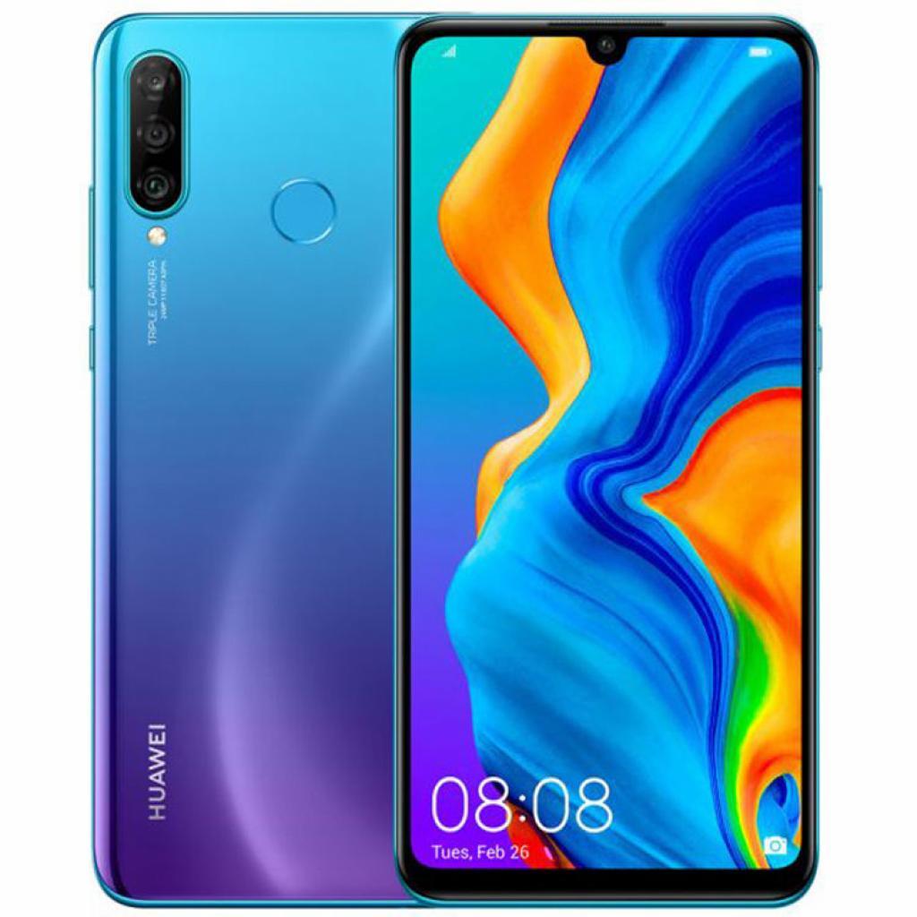 Мобильный телефон Huawei P30 Lite 4/128GB Peacock Blue (51093PUU) изображение 7