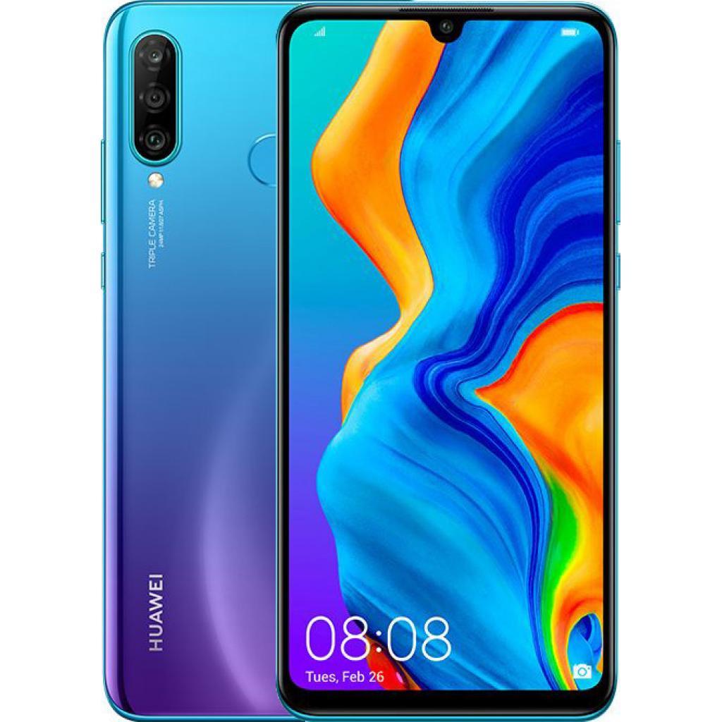 Мобильный телефон Huawei P30 Lite 4/128GB Peacock Blue (51093PUU)