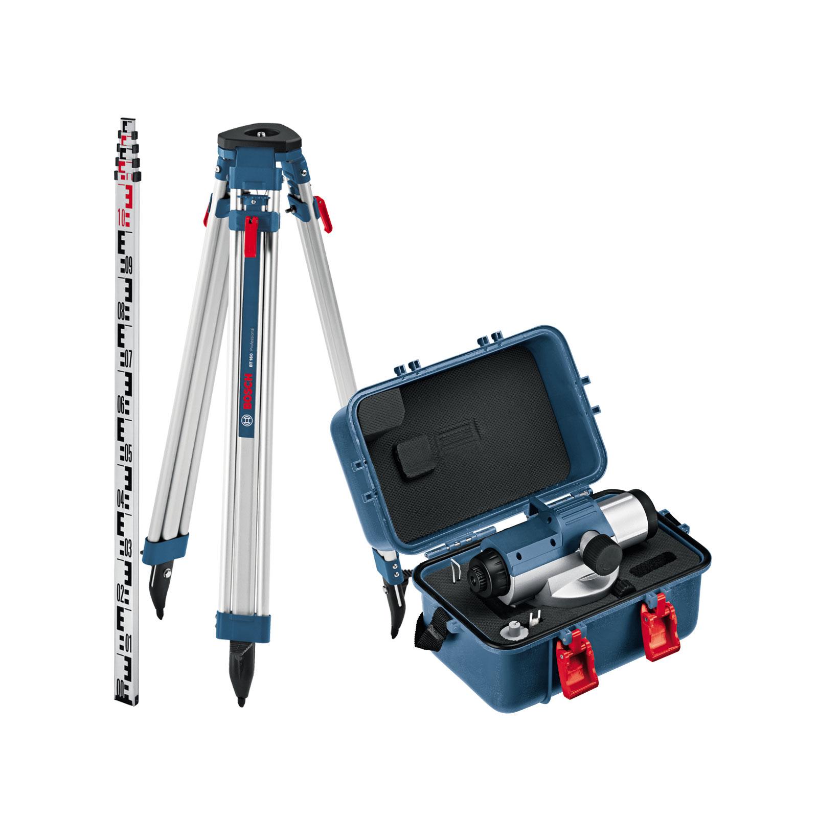 Оптический нивелир Bosch GOL 26 D + BT160 + GR500 (0.601.068.002) изображение 3