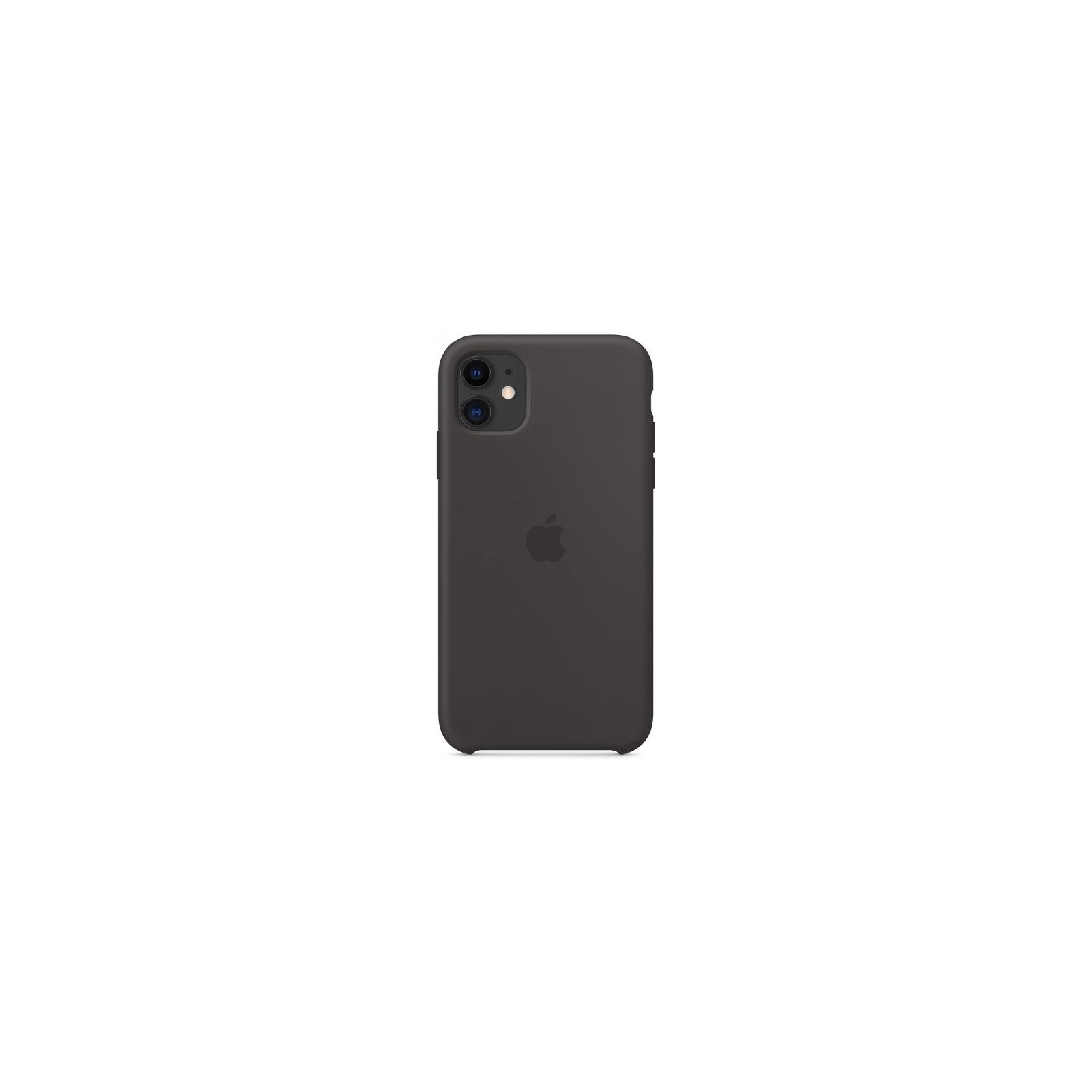 Чехол для моб. телефона Apple iPhone 11 Silicone Case - Black (MWVU2ZM/A) изображение 2