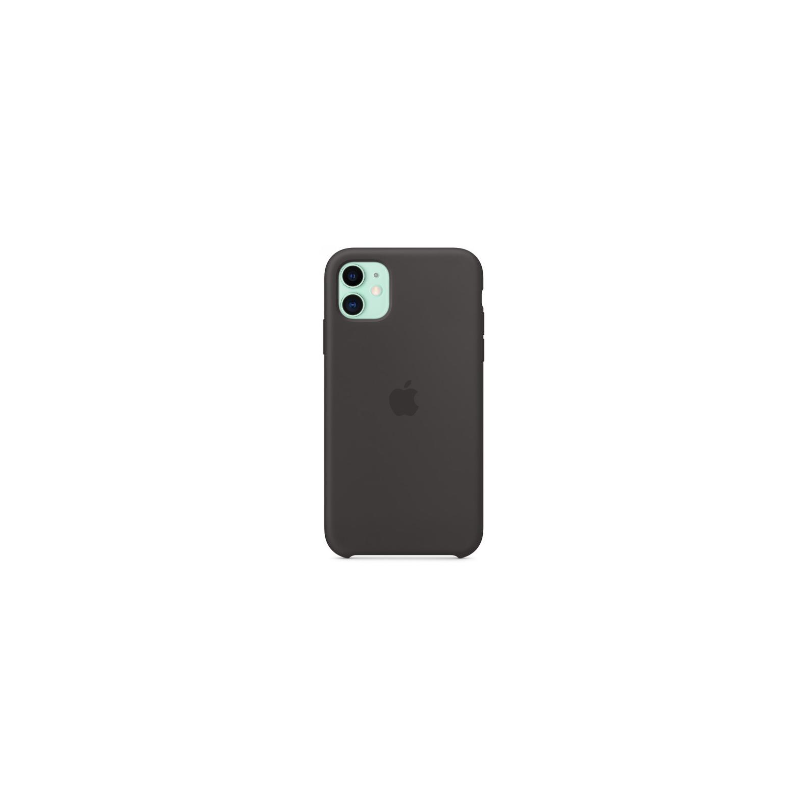 Чехол для моб. телефона Apple iPhone 11 Silicone Case - Black (MWVU2ZM/A) изображение 3