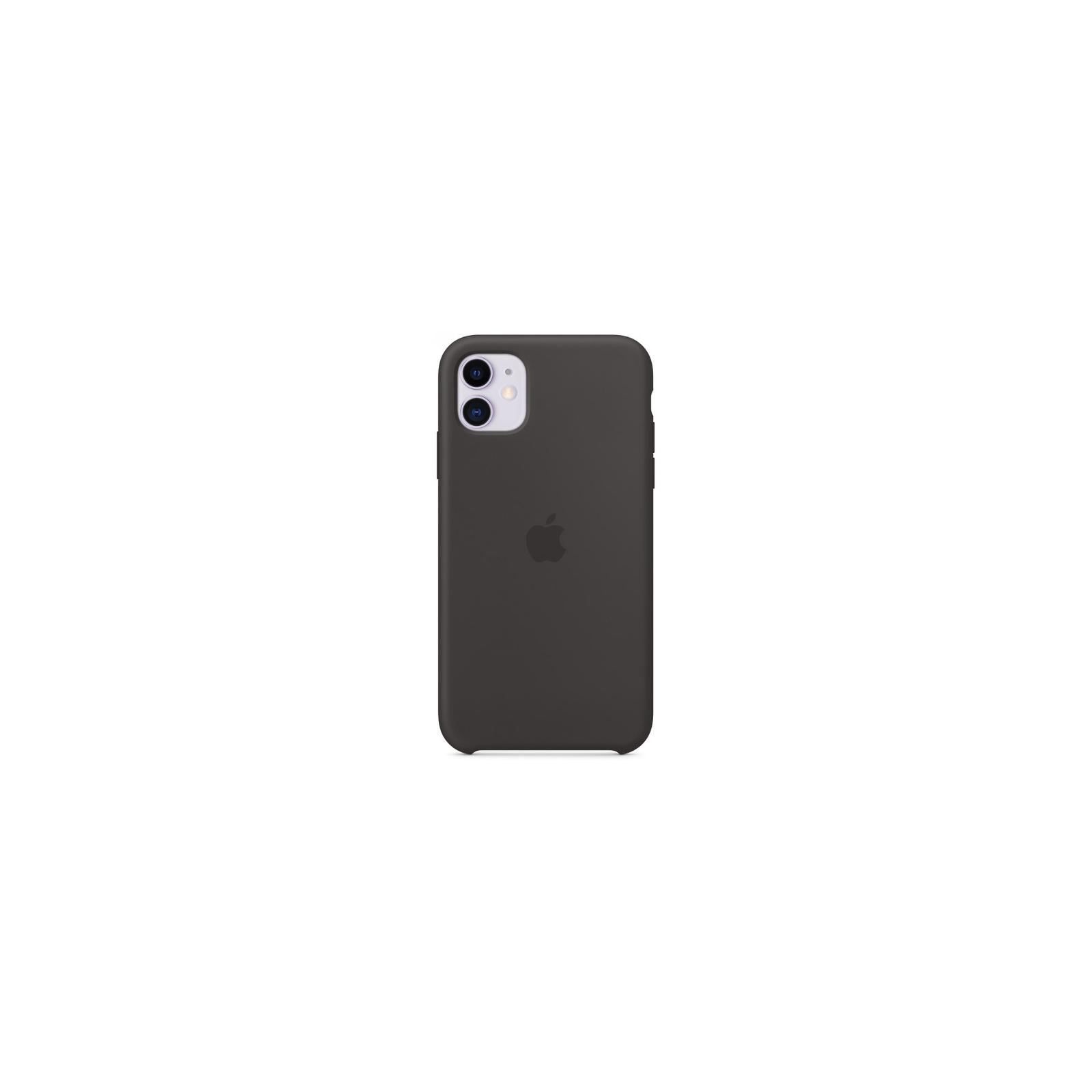 Чехол для моб. телефона Apple iPhone 11 Silicone Case - Black (MWVU2ZM/A) изображение 5