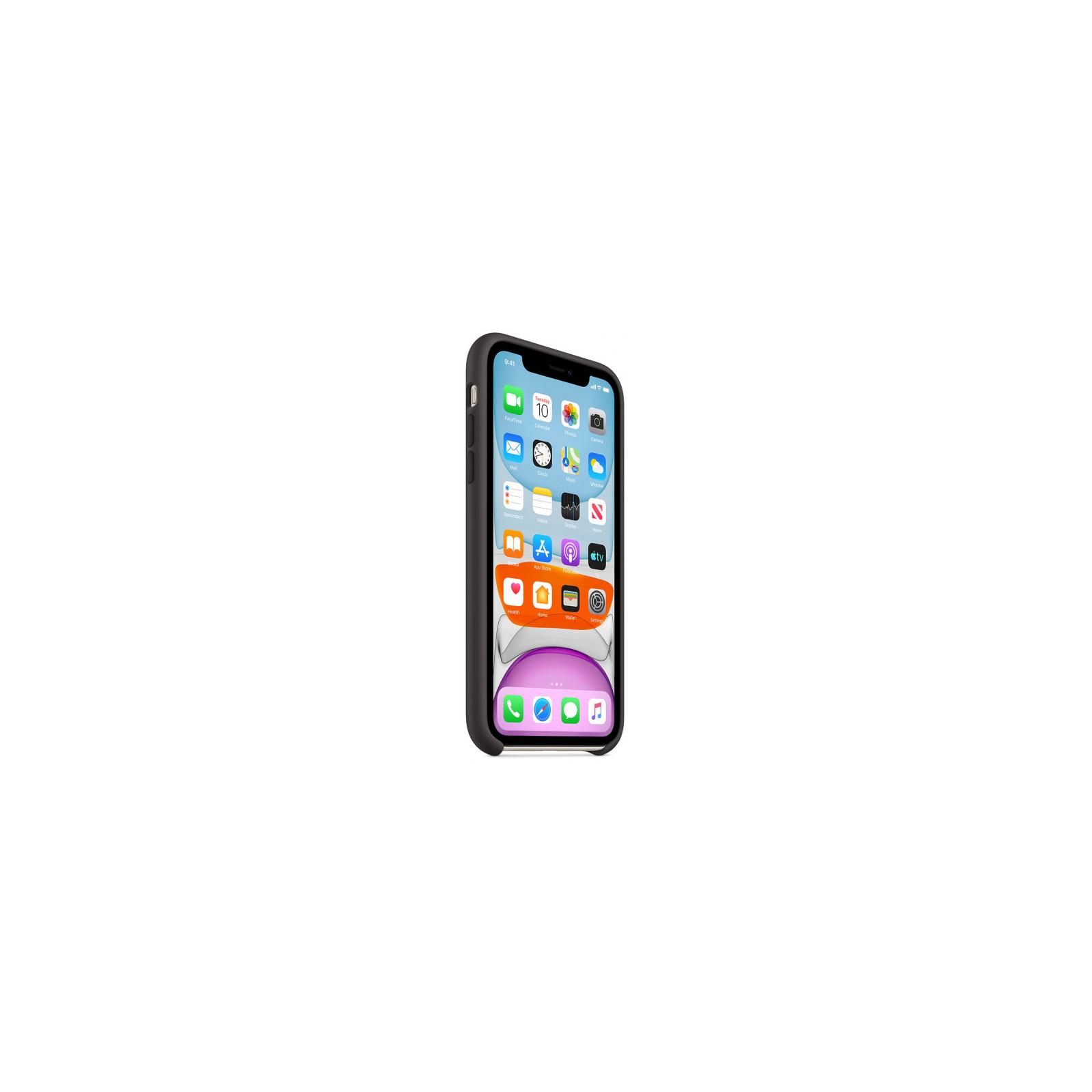 Чехол для моб. телефона Apple iPhone 11 Silicone Case - Black (MWVU2ZM/A) изображение 7