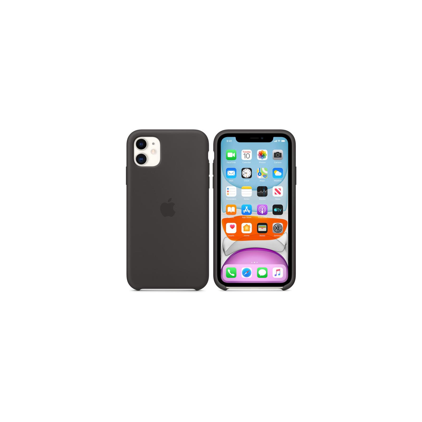 Чехол для моб. телефона Apple iPhone 11 Silicone Case - Black (MWVU2ZM/A) изображение 8