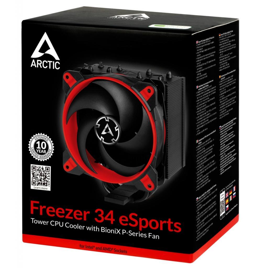 Кулер для процессора Arctic Freezer 34 eSports White (ACFRE00057A) изображение 9