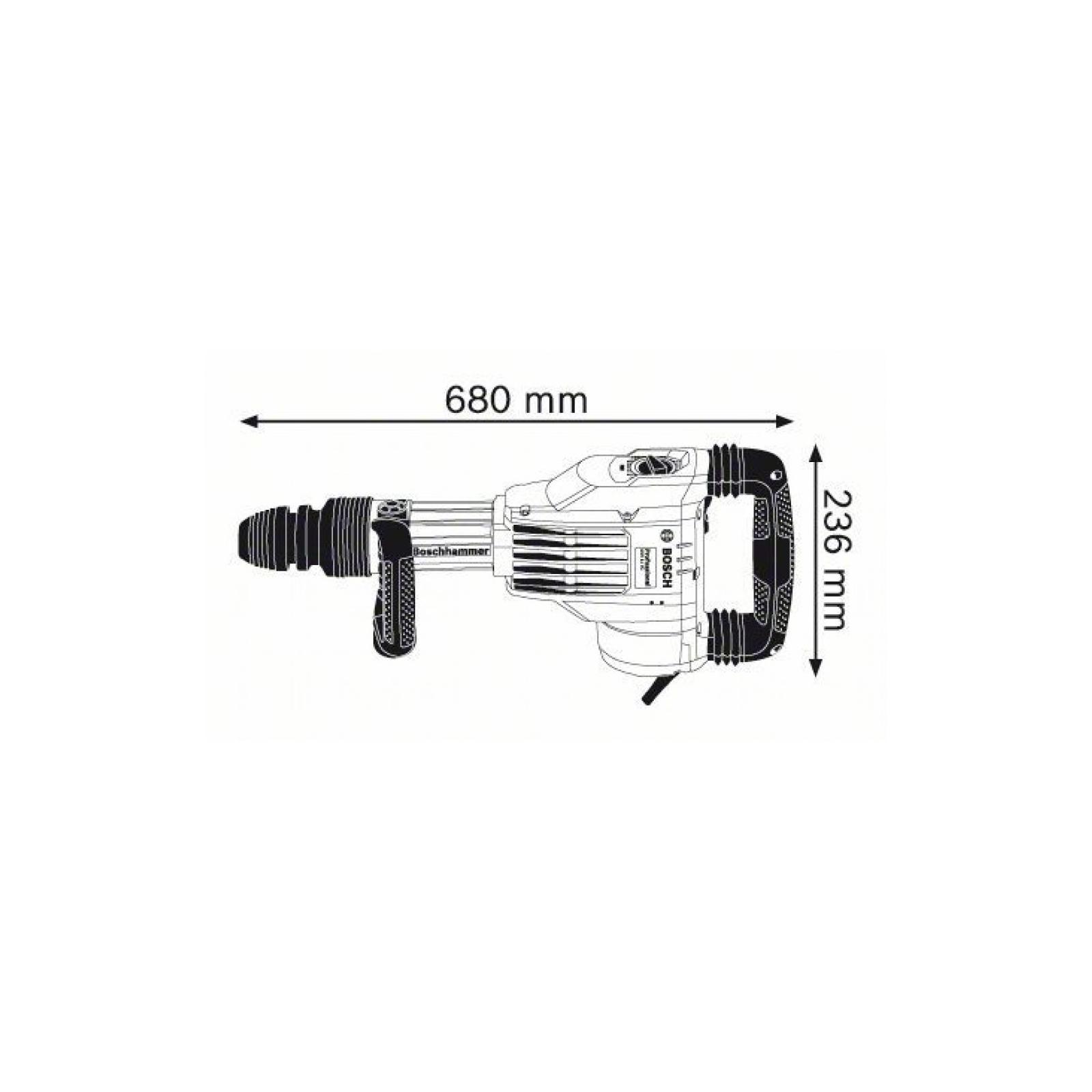 Отбойный молоток Bosch GSH 11 VC SDS-max (0.611.336.000) изображение 5