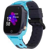 Смарт-часы Discovery iQ4600 Camera Blue Детские смарт часы-телефон трекер (iQ4600 Blue)