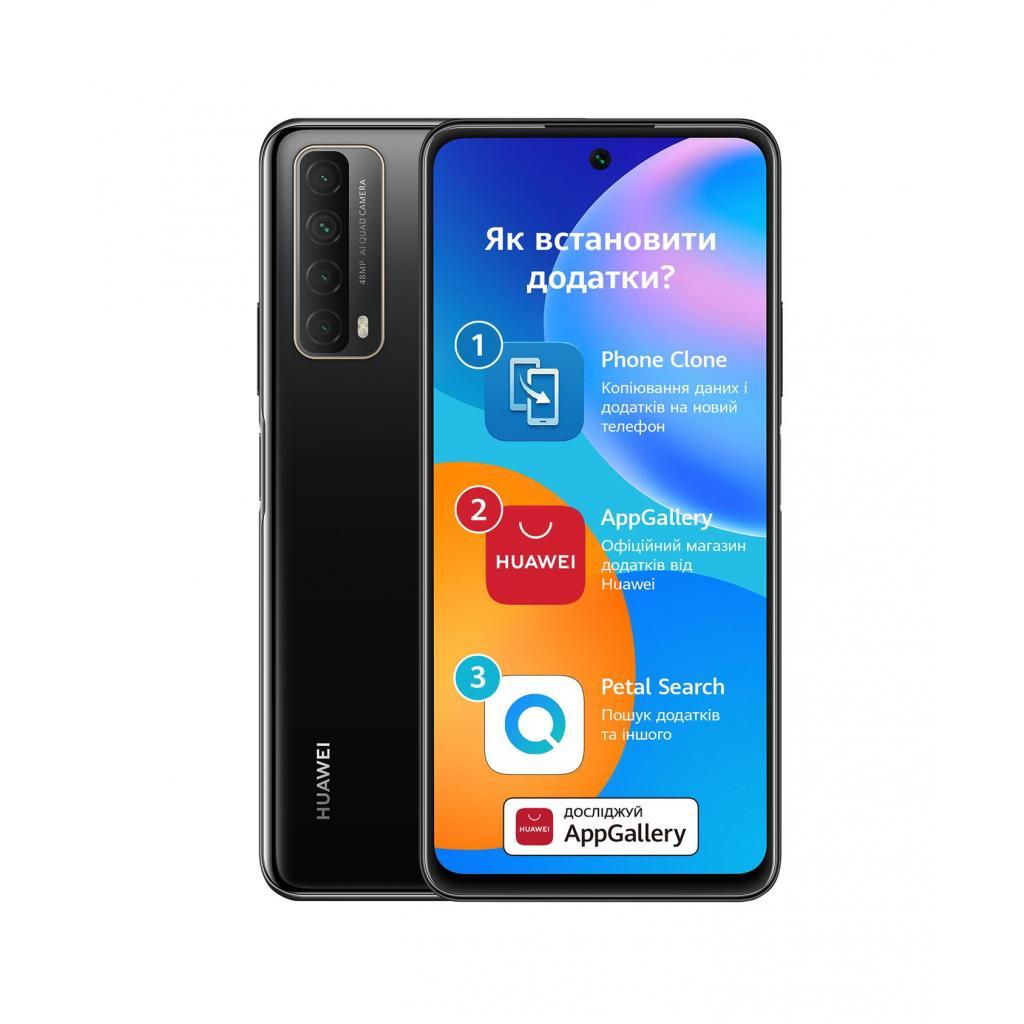 Мобильный телефон Huawei P Smart 2021 4/128Gb Midnight Black (51096ABV) изображение 2