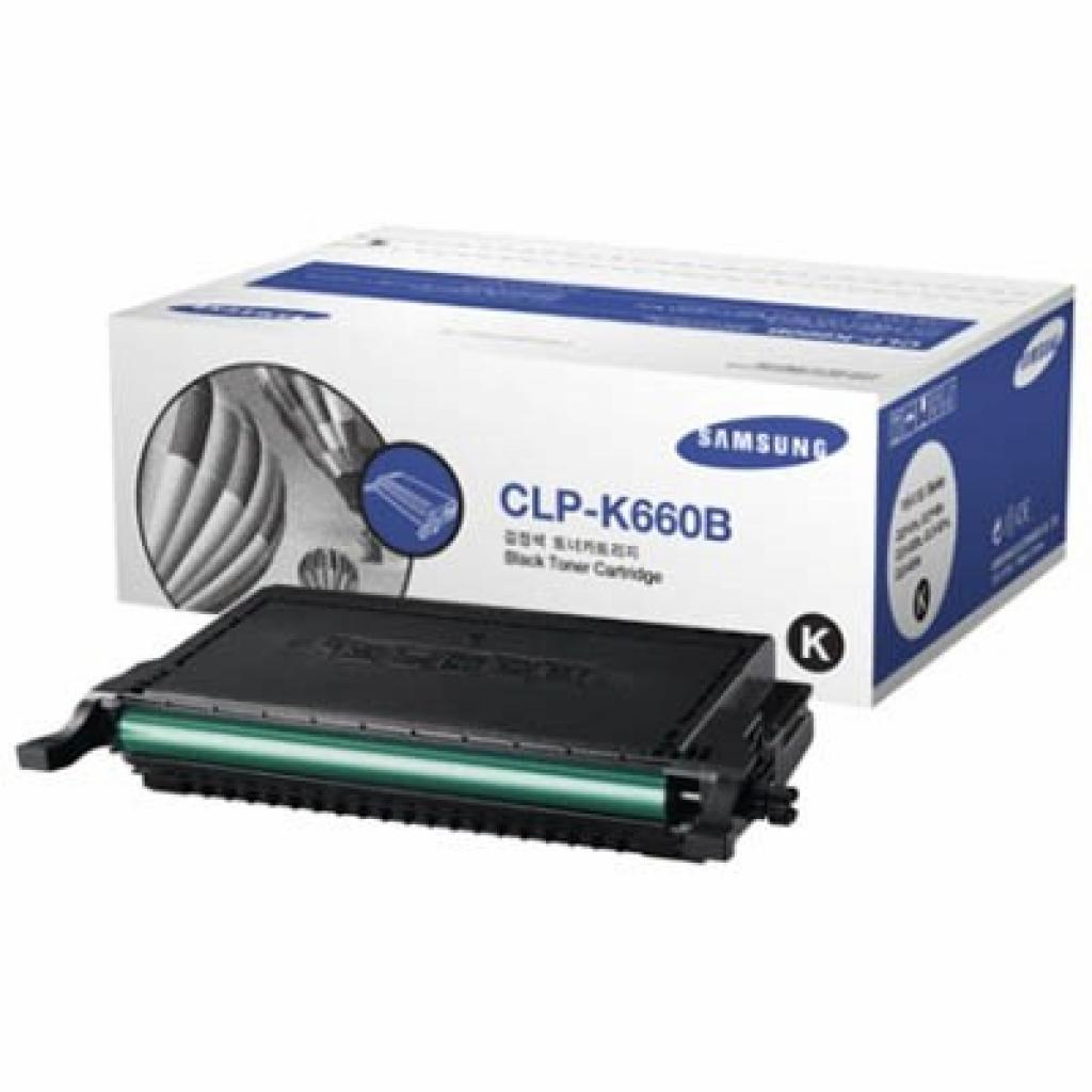 Картридж Samsung CLP-610ND/ 660N/ ND black (CLP-K660B)