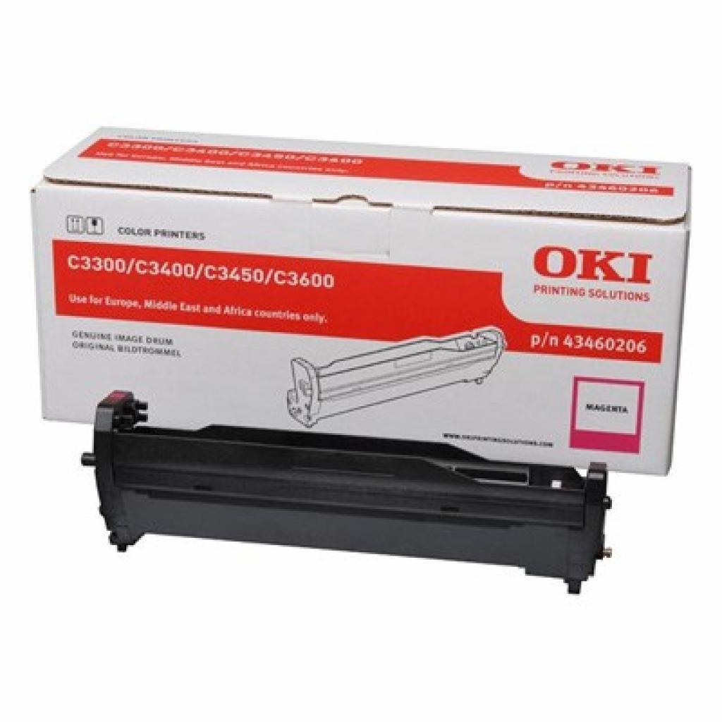 Фотокондуктор OKI C3300/3400/C3450/C3600 Magenta (43460206)