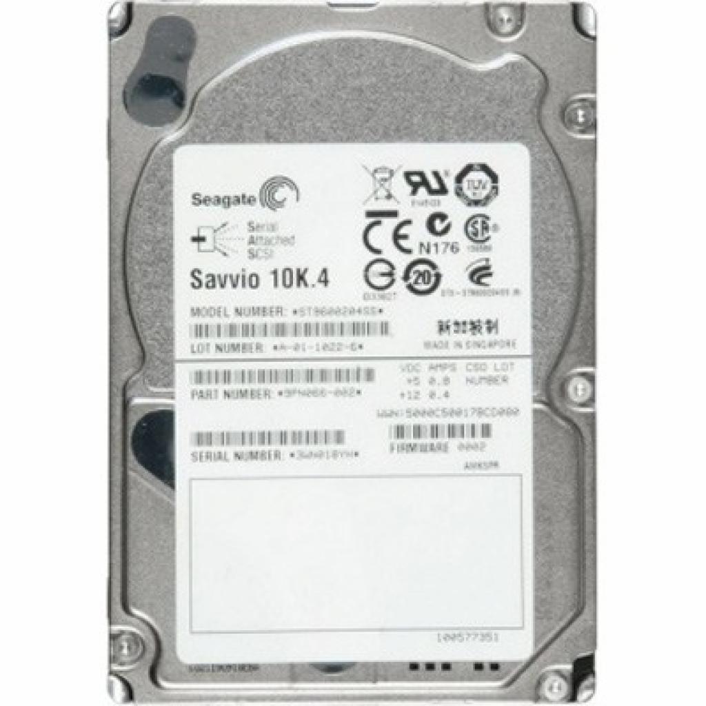 Жесткий диск для сервера 600GB Seagate (ST9600204SS)