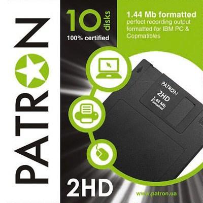 Дискети FDD PATRON 1.44MB 10шт (INS-F034/ INS-D034)