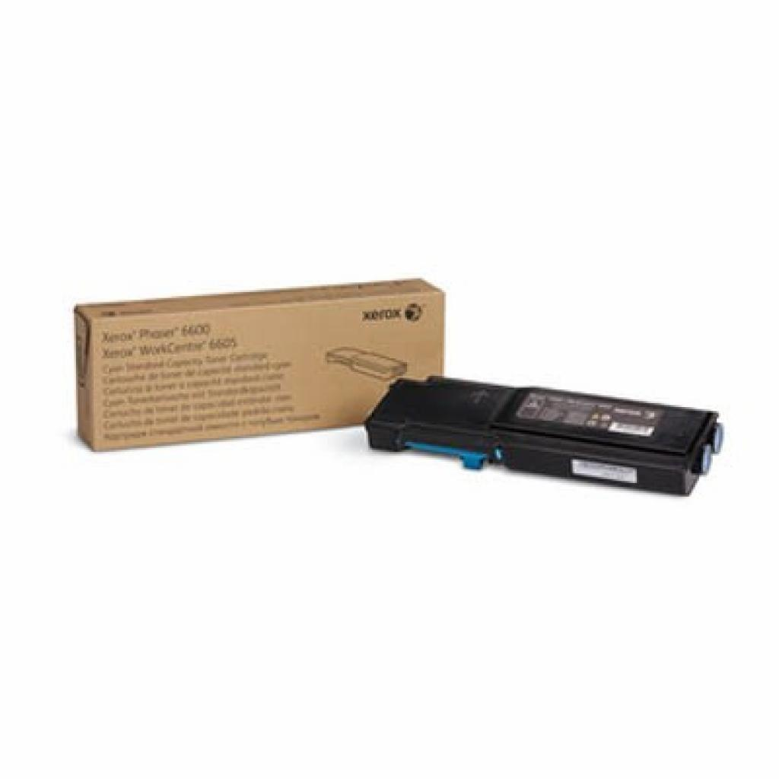 Тонер-картридж XEROX PH6600/ WC6605 Cyan (Max) (106R02233)
