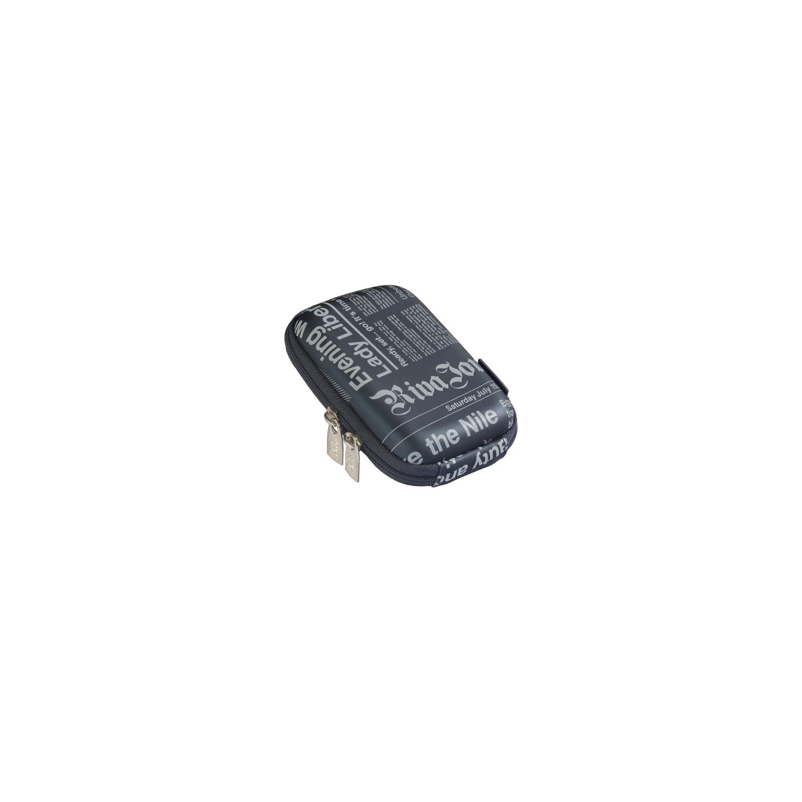 Фото-сумка RivaCase Digital Case (7103PU dark blue (newspaper)) изображение 2