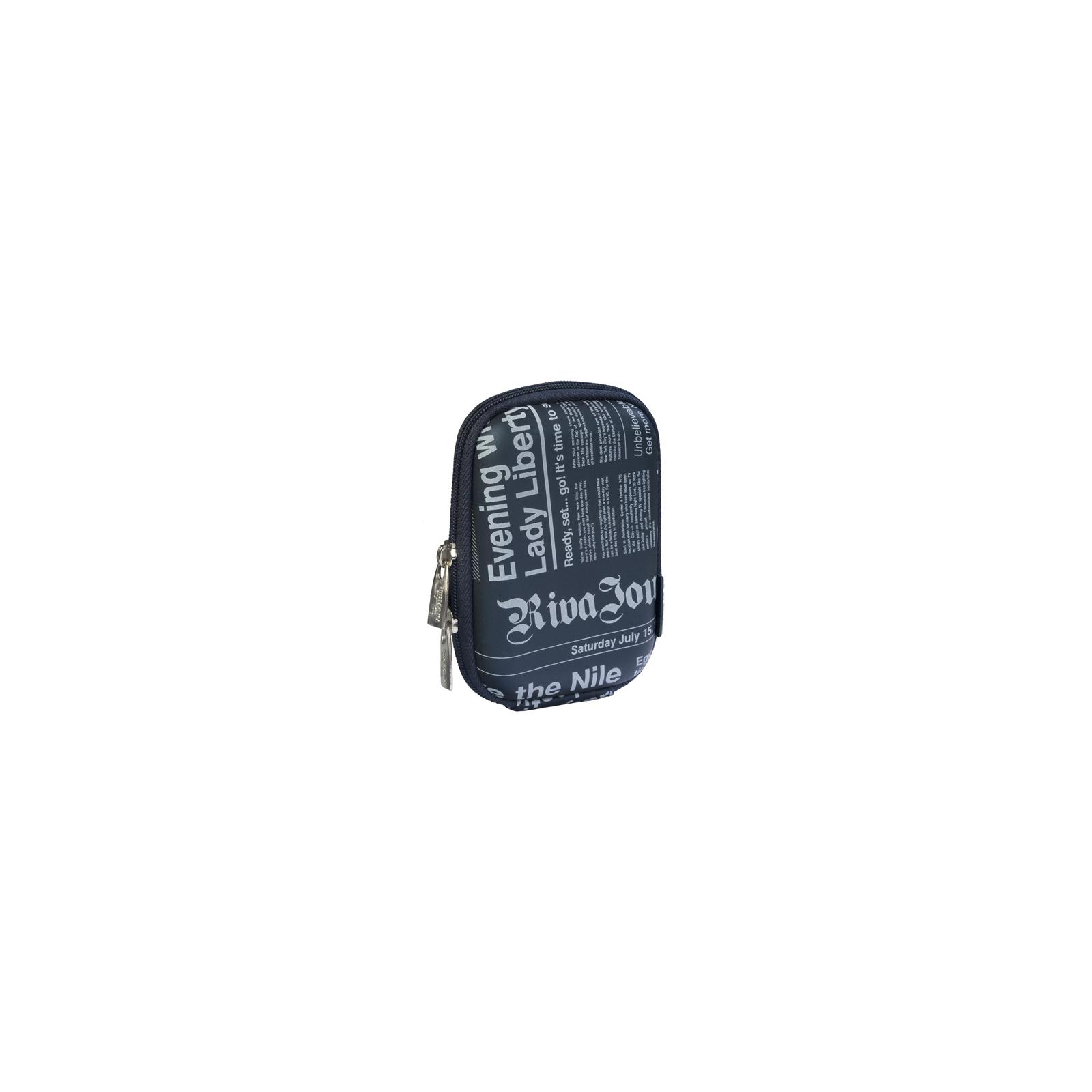 Фото-сумка RivaCase Digital Case (7103PU dark blue (newspaper))