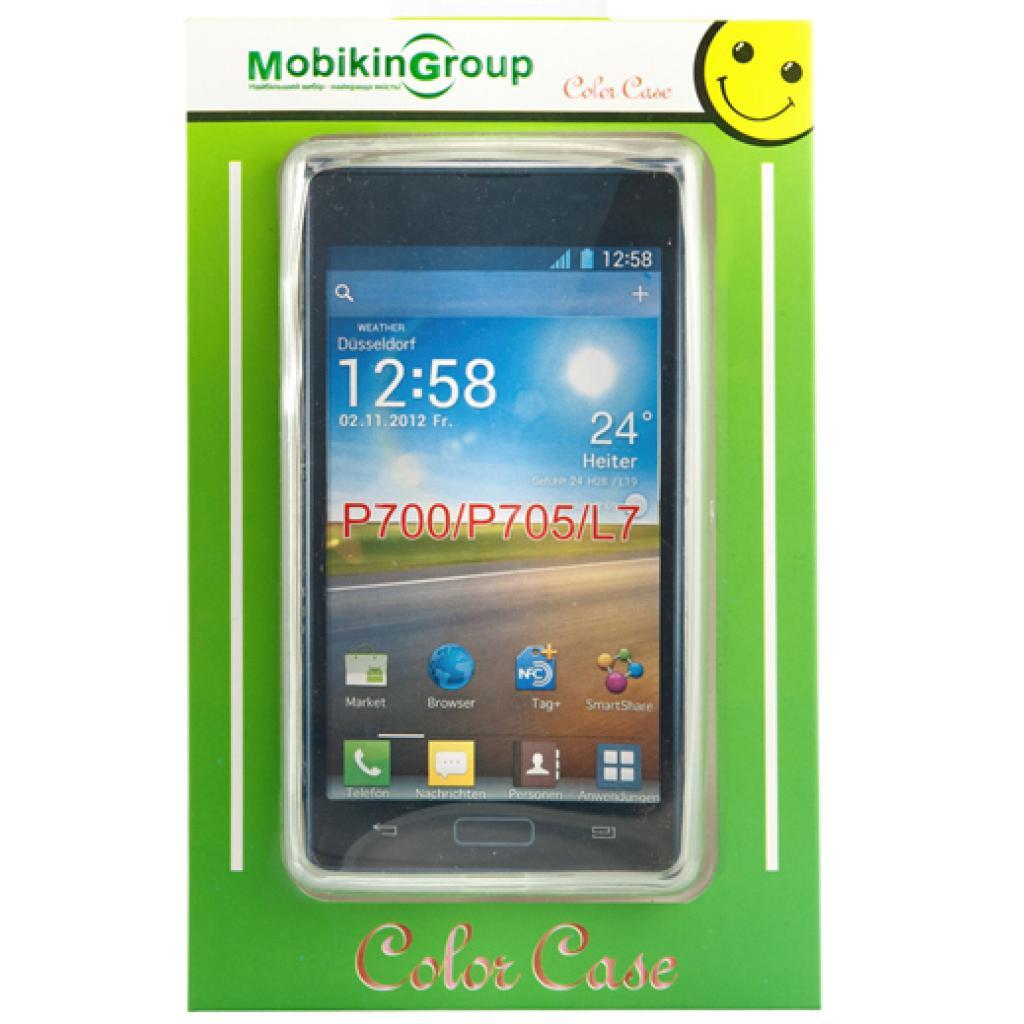 Чехол для моб. телефона Mobiking LG L7/P700/P705 White/Silicon (21283)