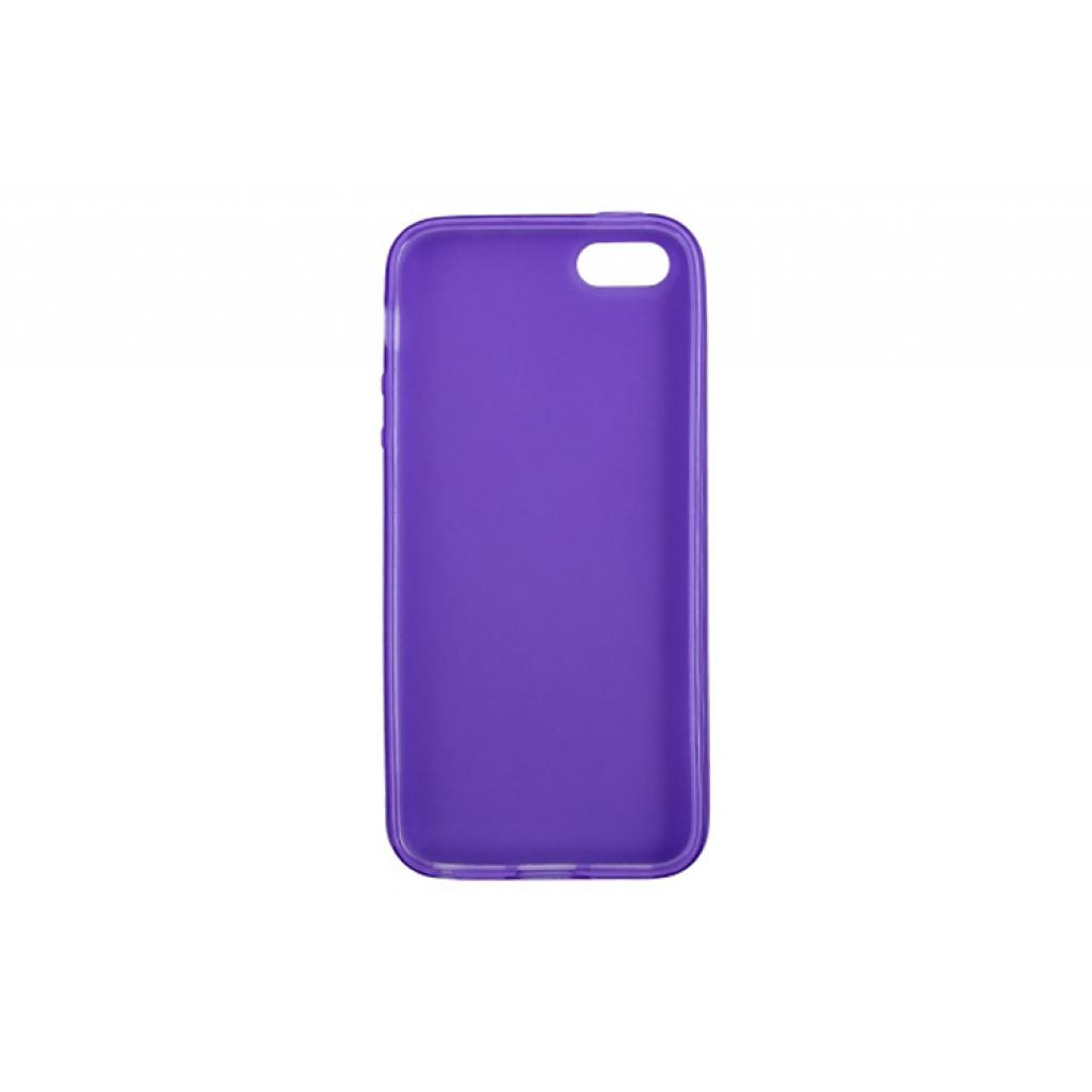 Чехол для моб. телефона Drobak для Apple Iphone 5 /ElasticPU/Purple (210254) изображение 2