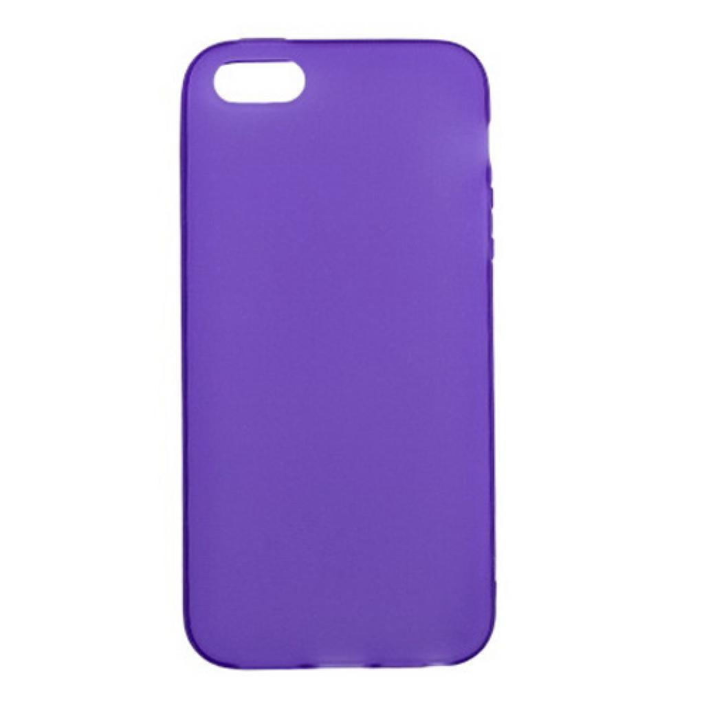 Чехол для моб. телефона Drobak для Apple Iphone 5 /ElasticPU/Purple (210254)