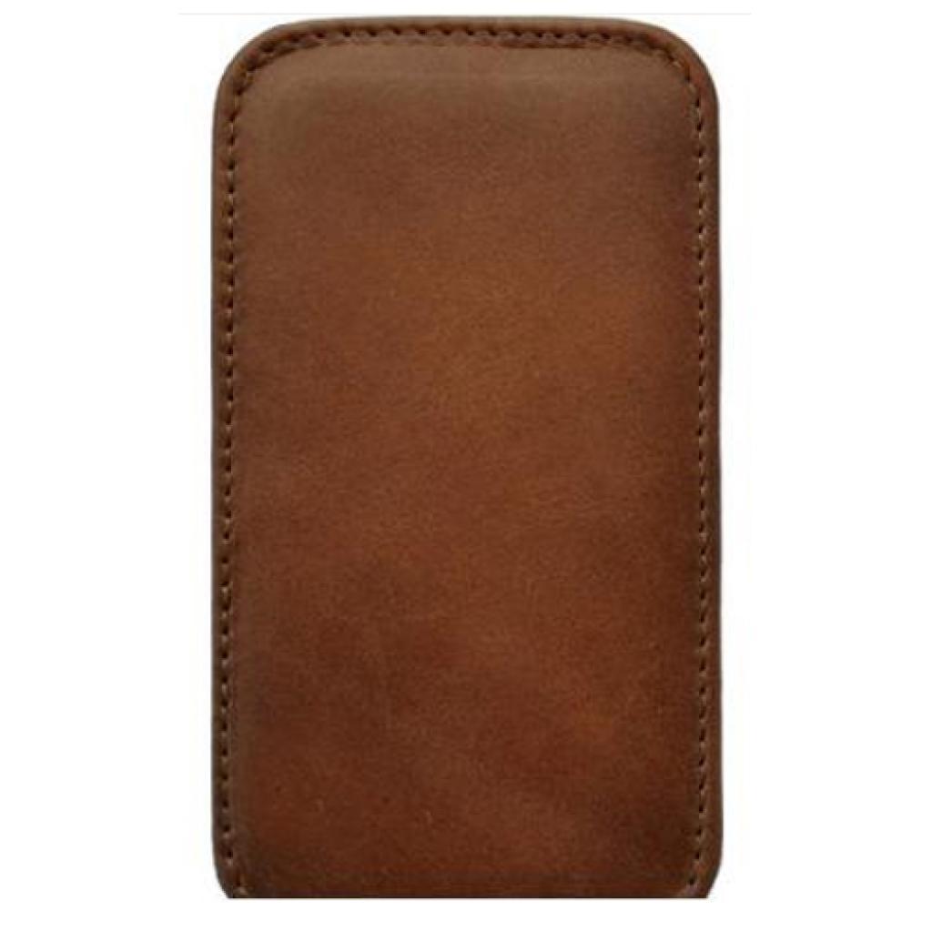 Чехол для моб. телефона KeepUp для LG Optimus L3 (E435) Brown/FLIP (00-00007640)
