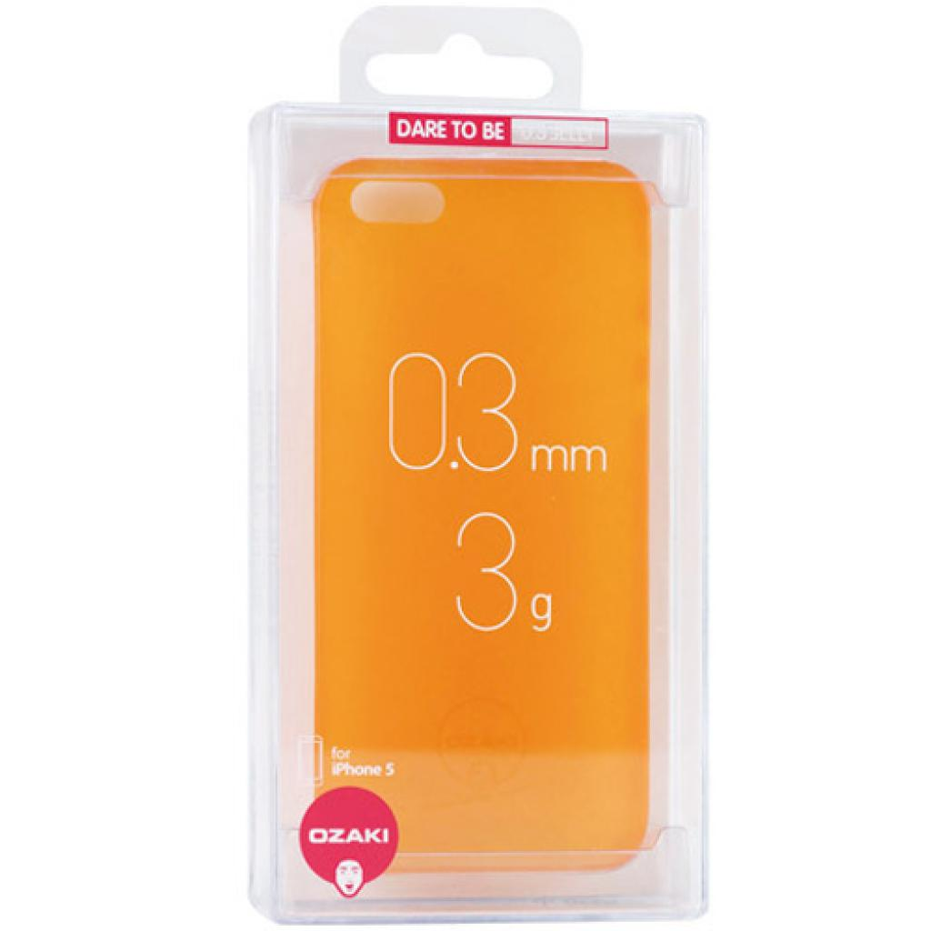 Чехол для моб. телефона OZAKI iPhone 5/5S O!coat 0.3 JELLY/Orange (OC533OG) изображение 2